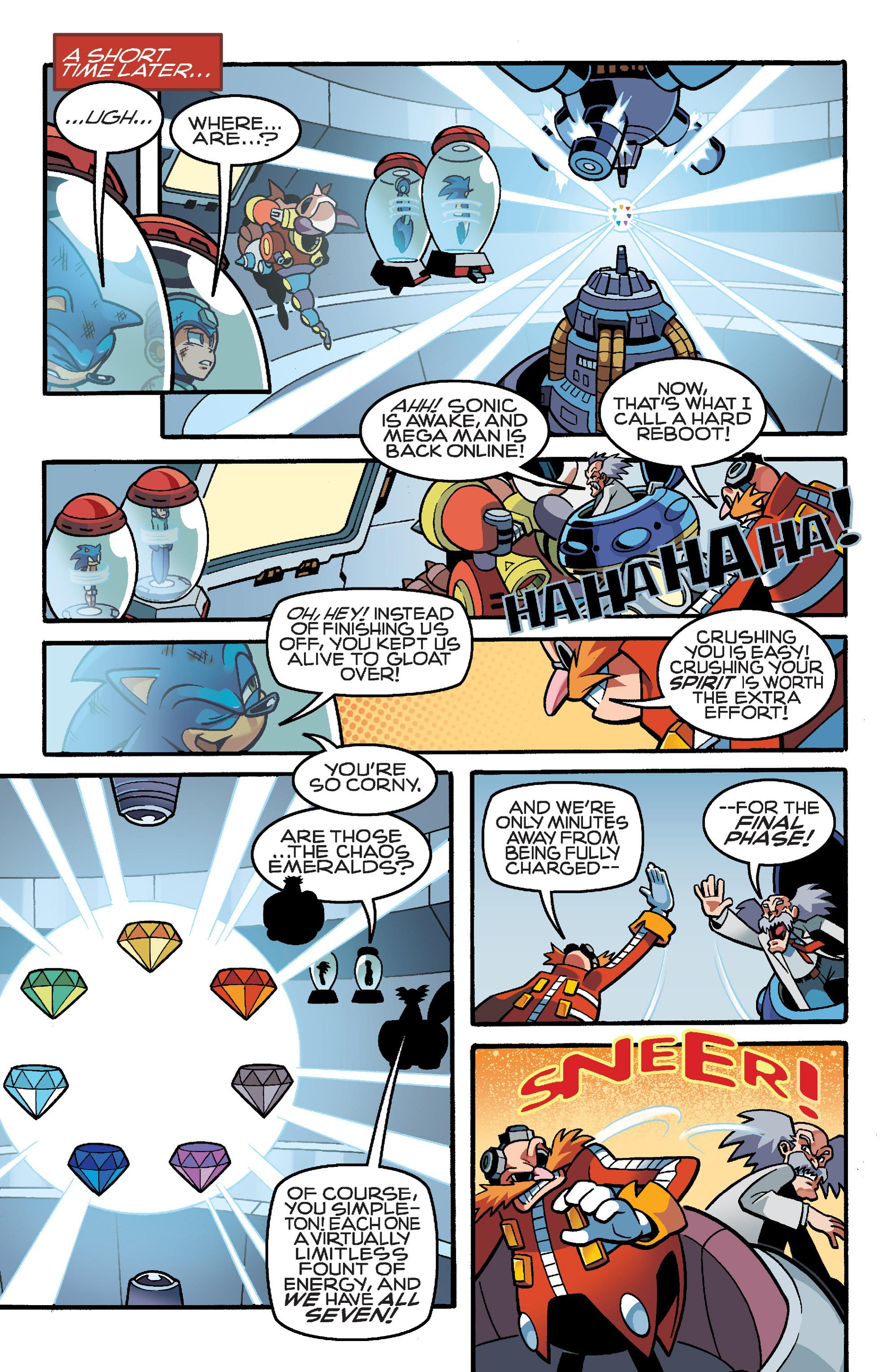 Read online Sonic Mega Man Worlds Collide comic -  Issue # Vol 3 - 89