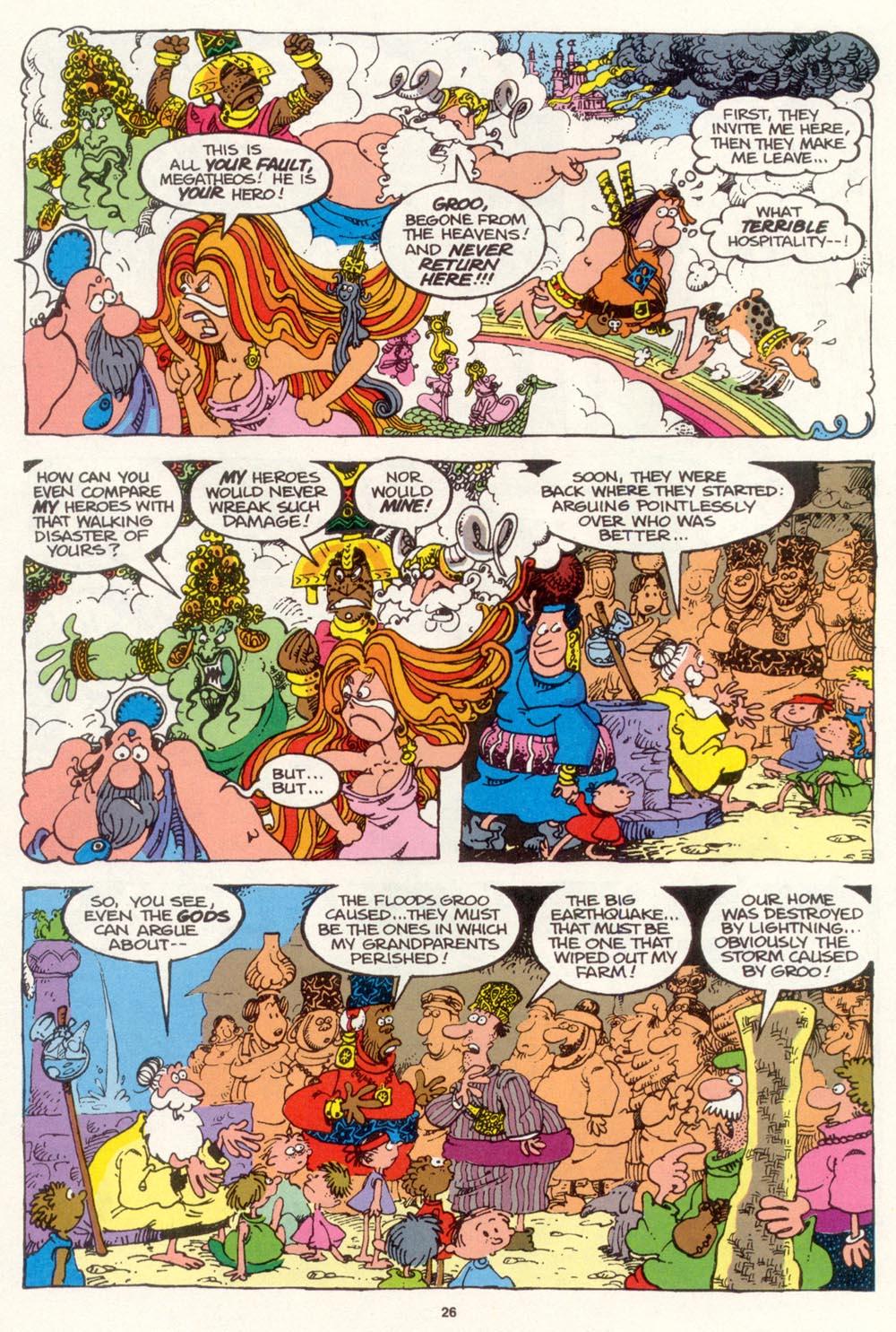 Read online Sergio Aragonés Groo the Wanderer comic -  Issue #99 - 27