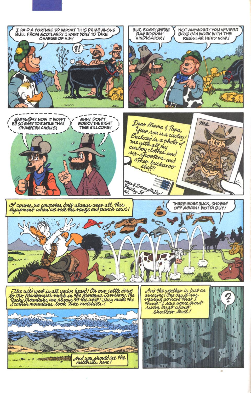 Read online Uncle Scrooge (1953) comic -  Issue #287 - 7