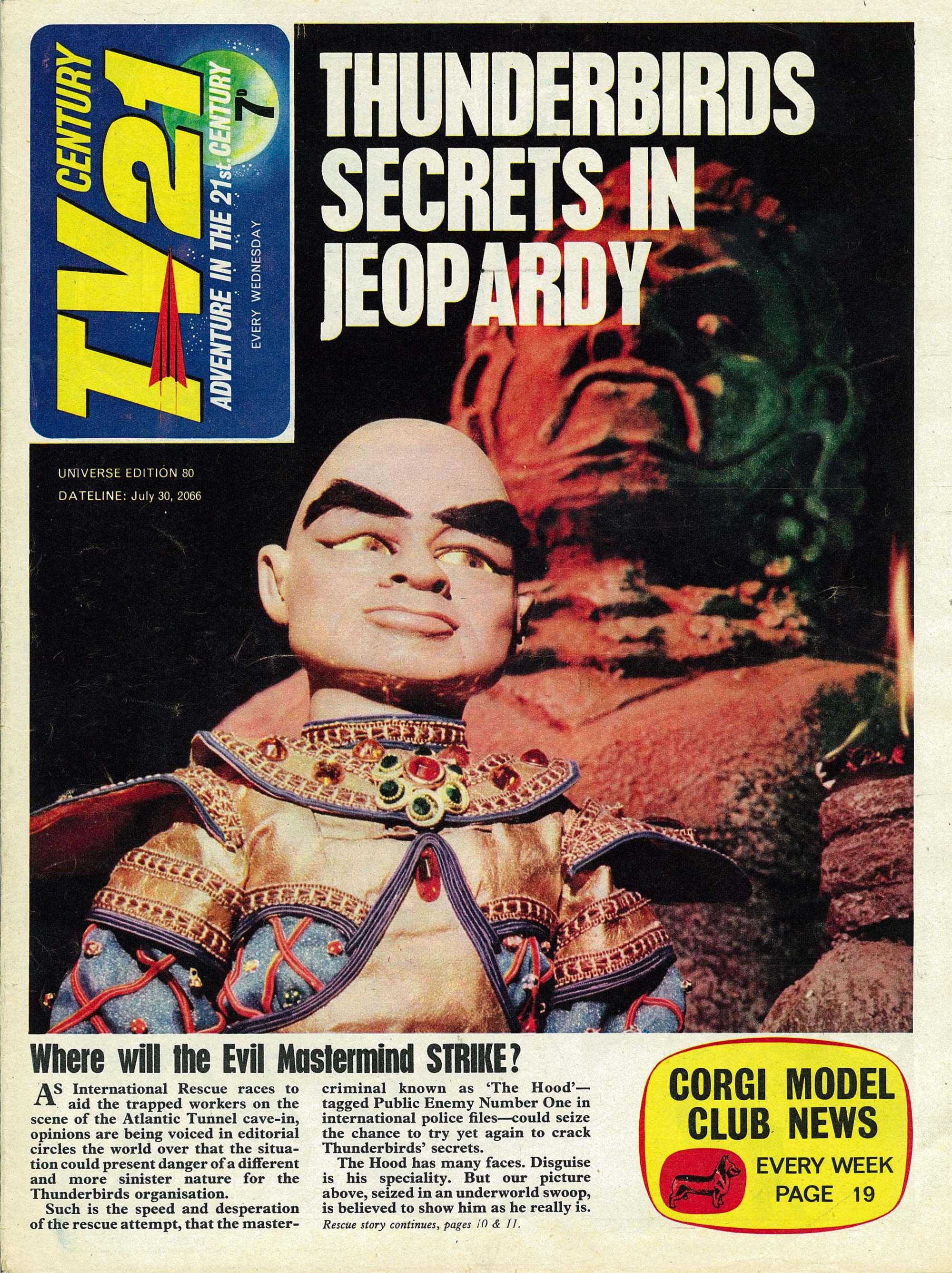 TV Century 21 (TV 21) 80 Page 1