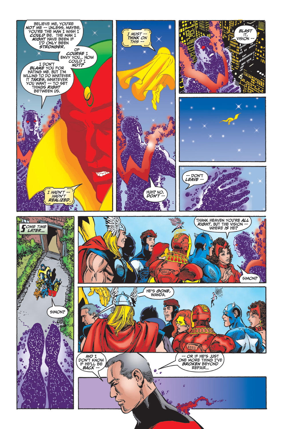 Read online Avengers (1998) comic -  Issue #23 - 22