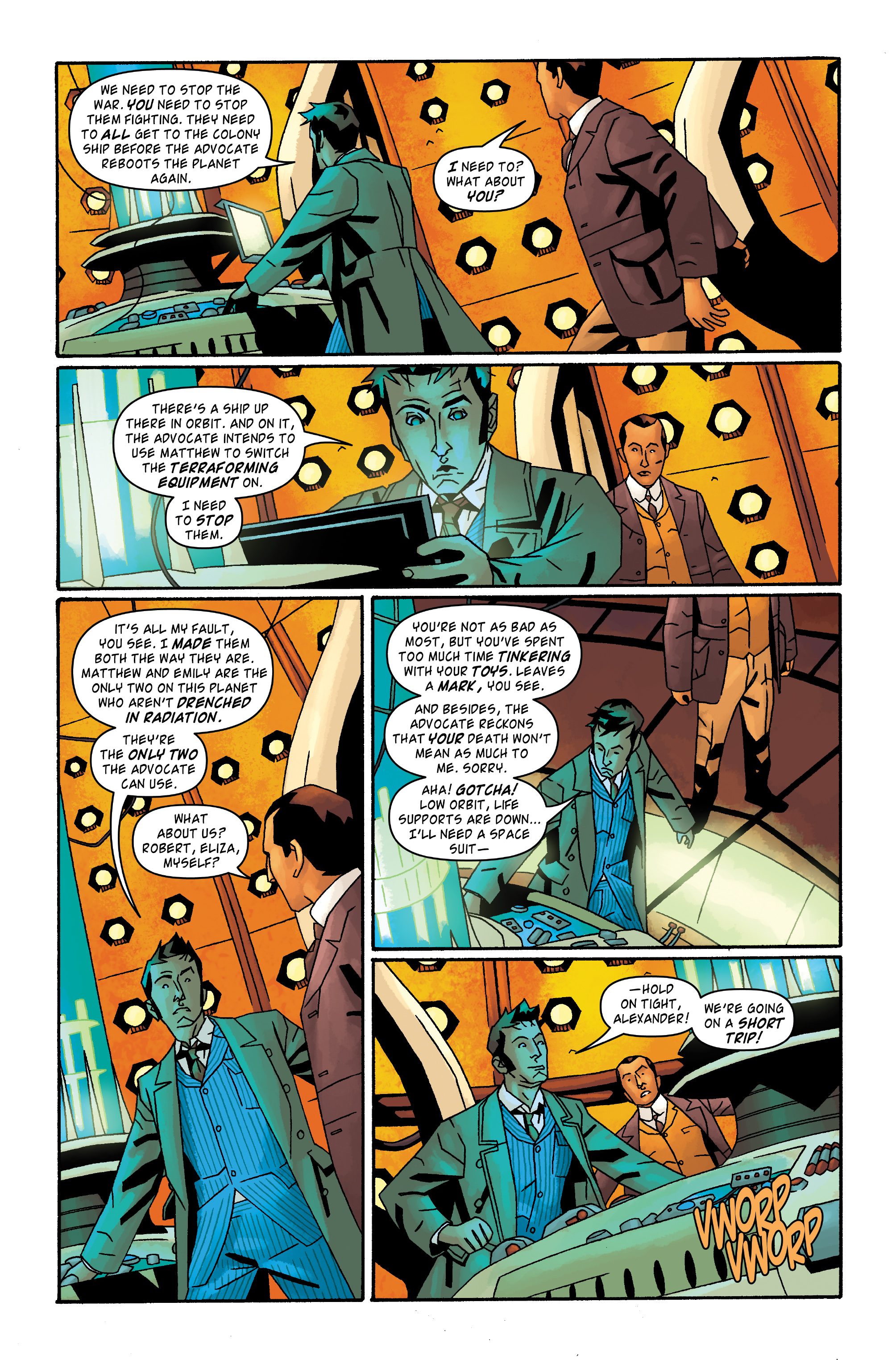 Read online Doctor Who: The Tenth Doctor Archives comic -  Issue #33 - 5