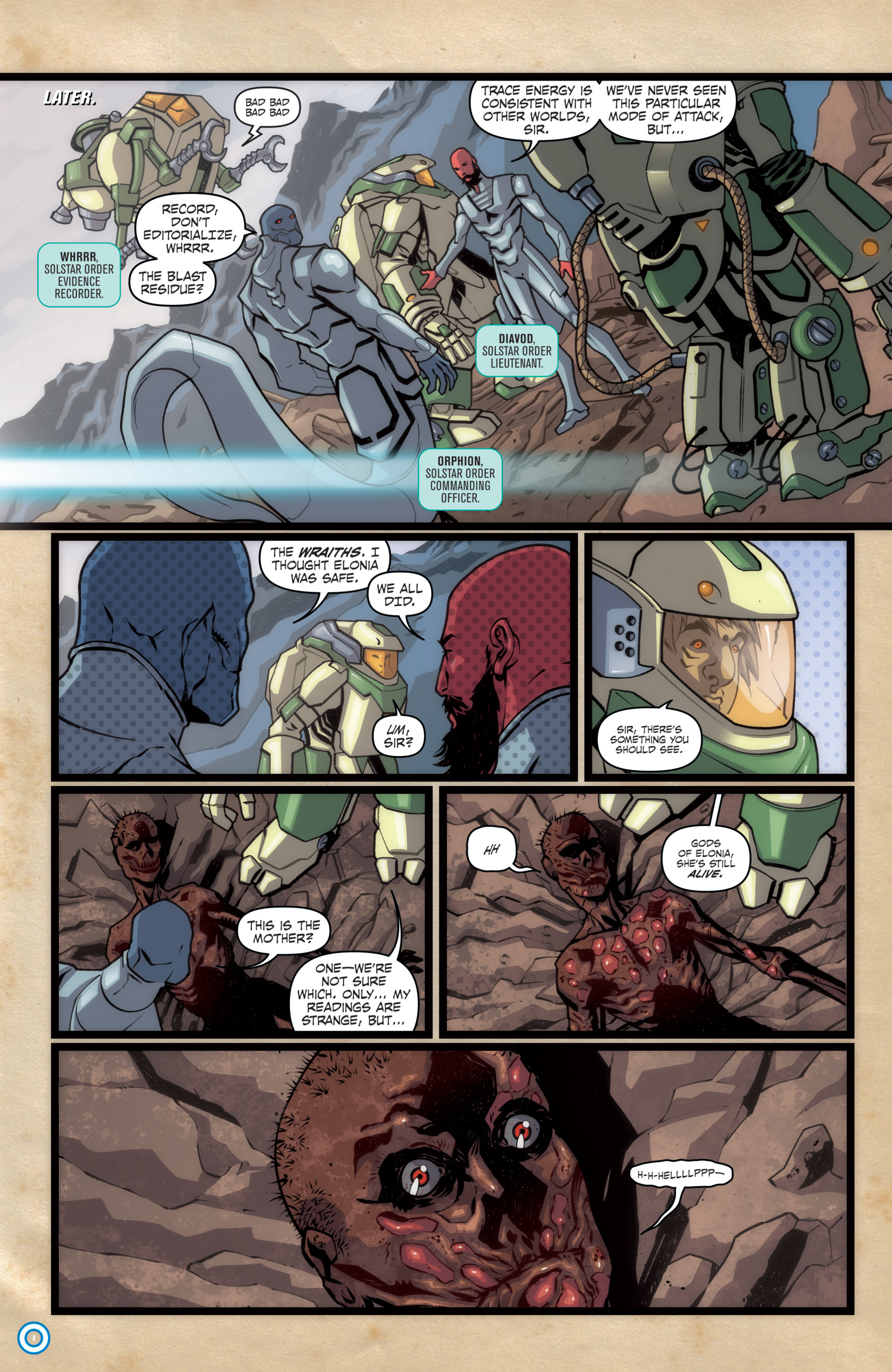 Read online Transformers: Till All Are One comic -  Issue #7 - 32