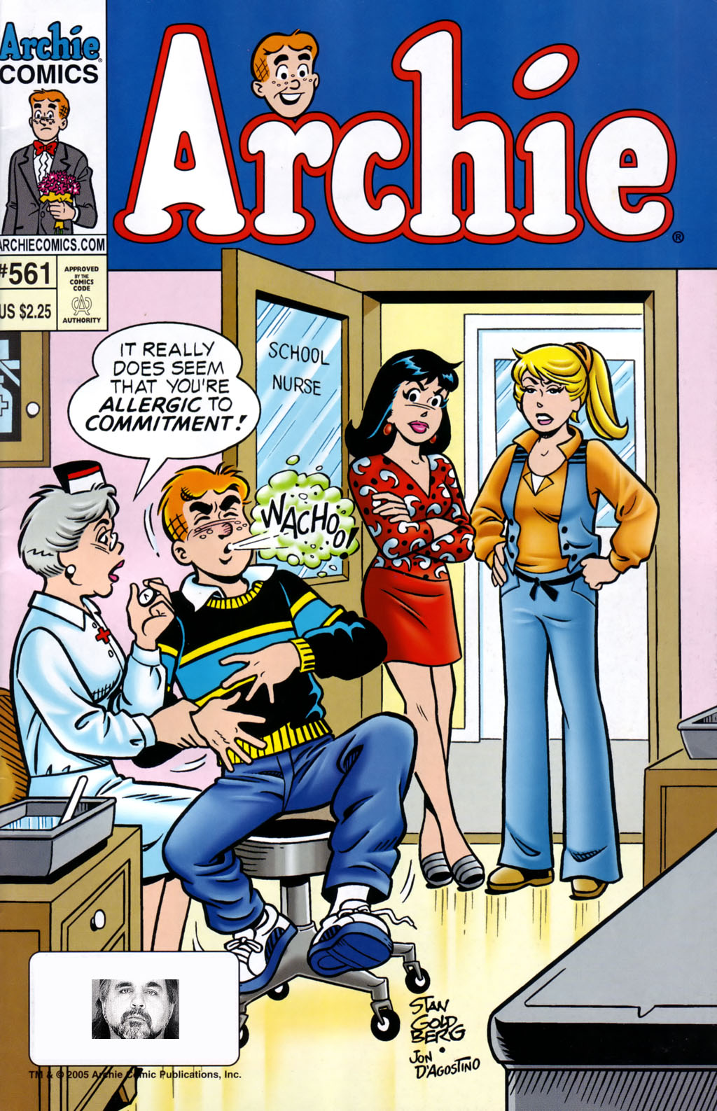 Read online Archie (1960) comic -  Issue #561 - 1