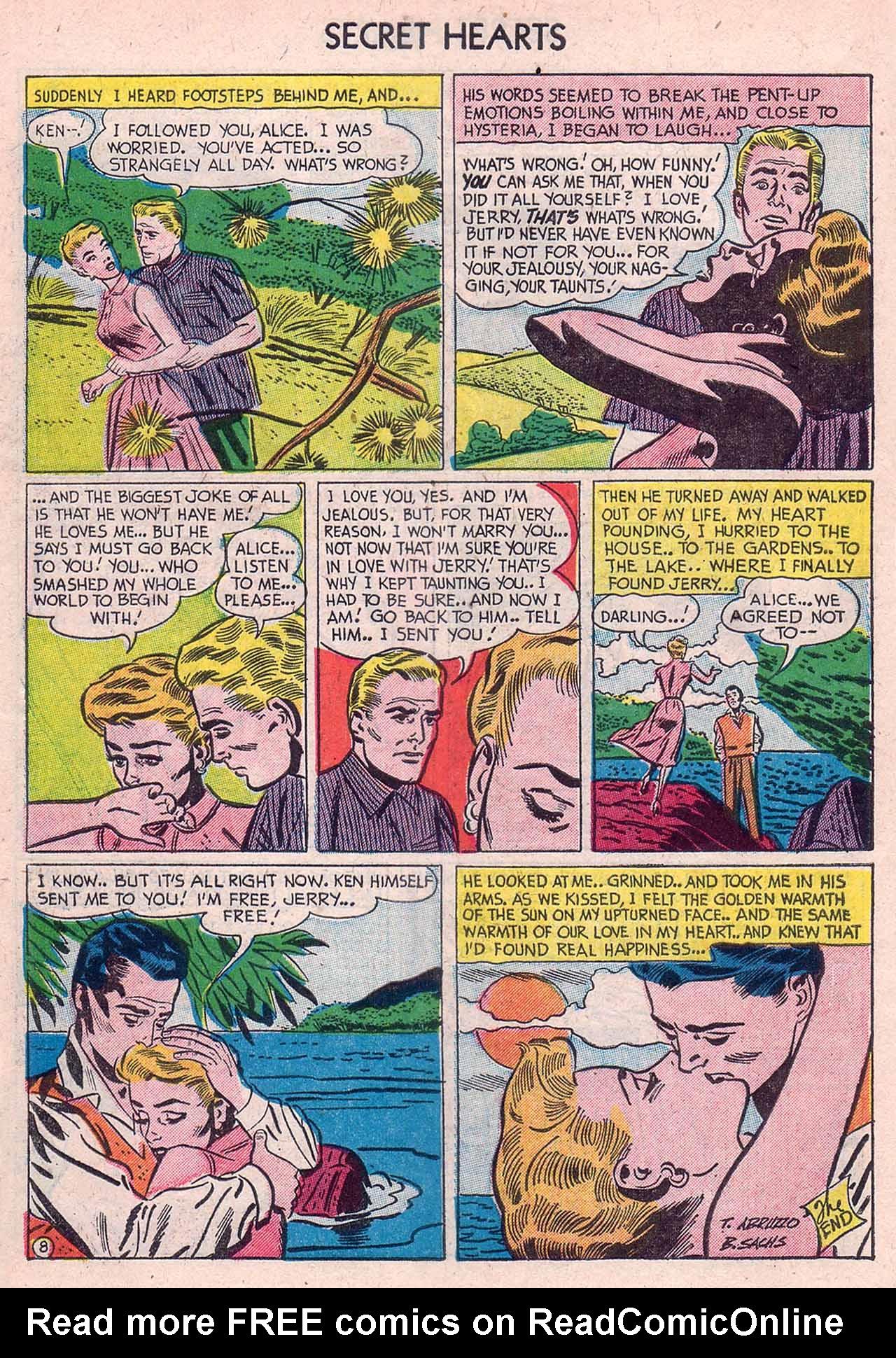 Read online Secret Hearts comic -  Issue #12 - 34