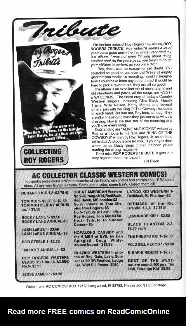 Read online Roy Rogers comic -  Issue #5 - 16