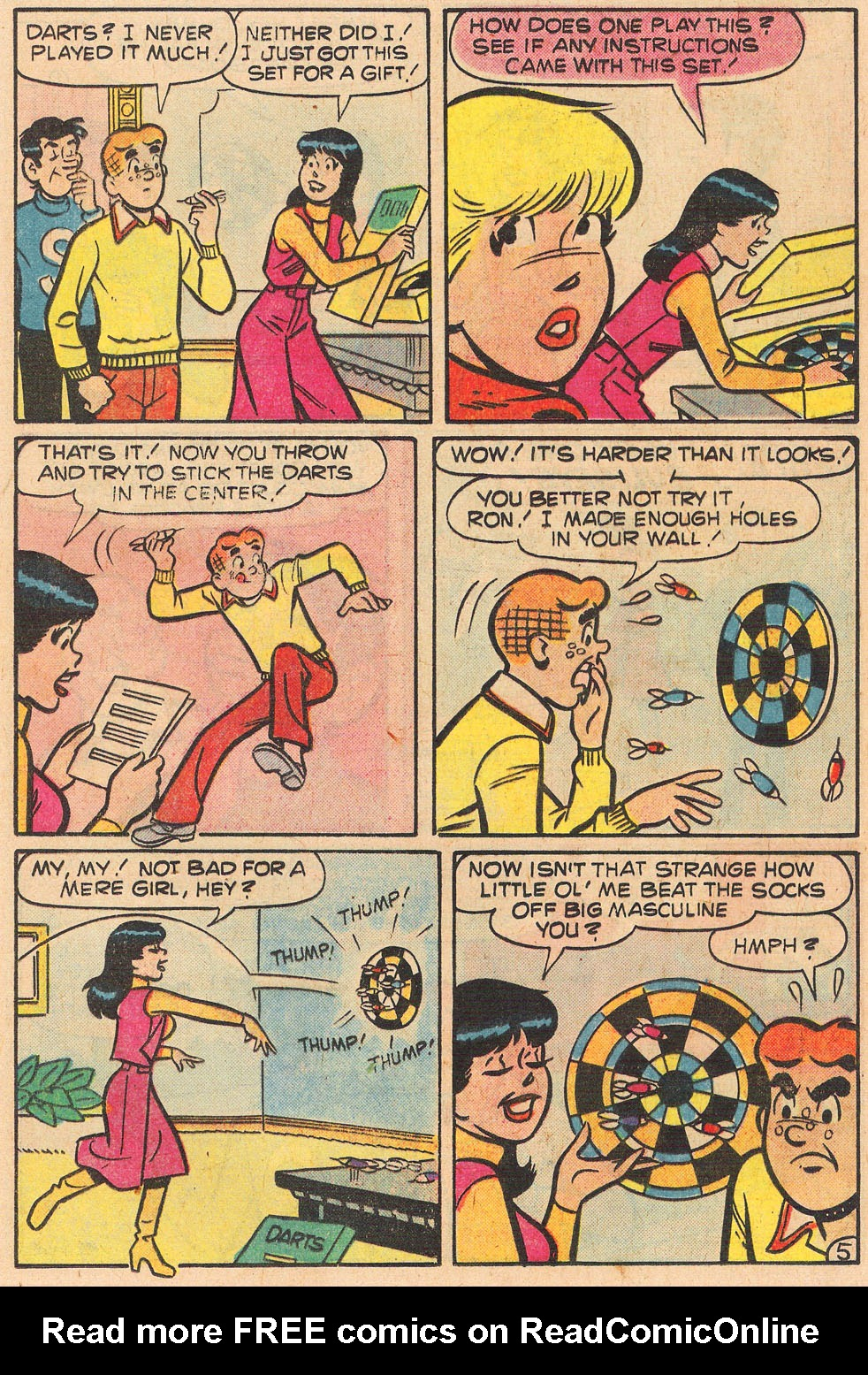 Read online Archie's Girls Betty and Veronica comic -  Issue #259 - 17
