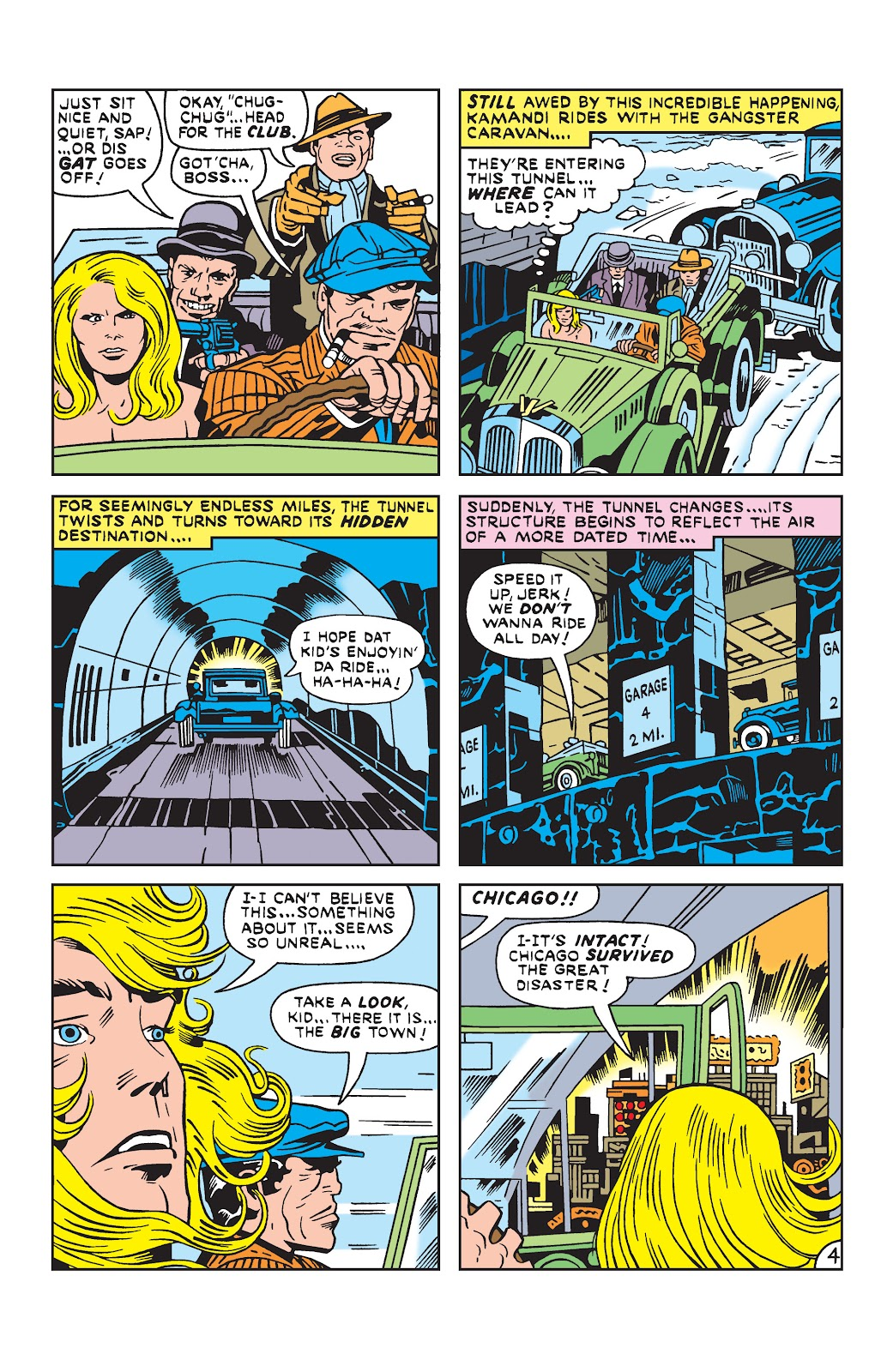 Kamandi, The Last Boy On Earth issue 19 - Page 4