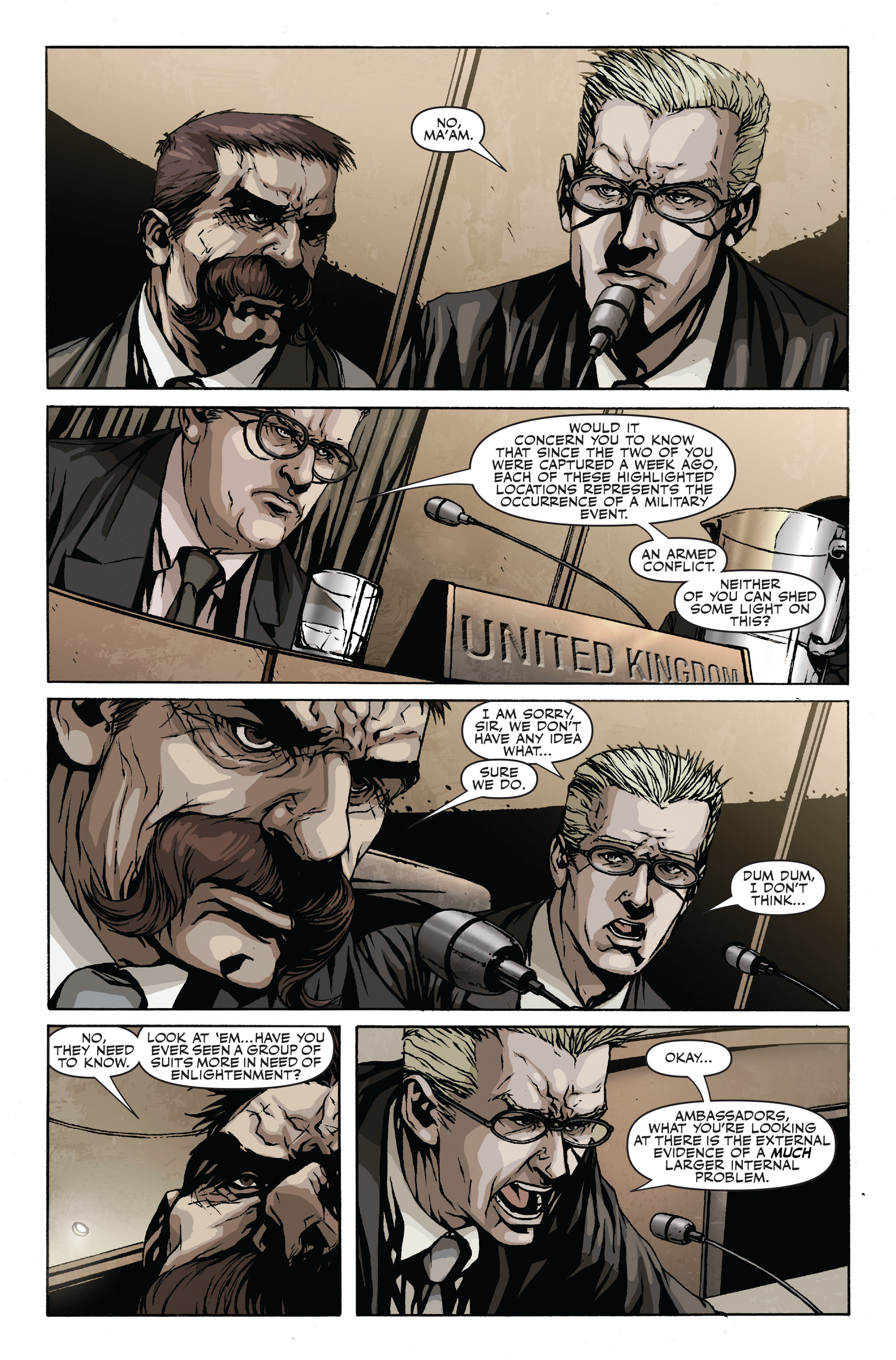 Read online Secret Warriors comic -  Issue #18 - 17