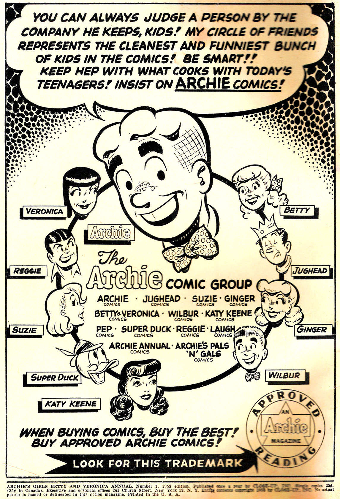 Read online Archie's Girls Betty and Veronica comic -  Issue #Archie's Girls Betty and Veronica Annual 1 - 2