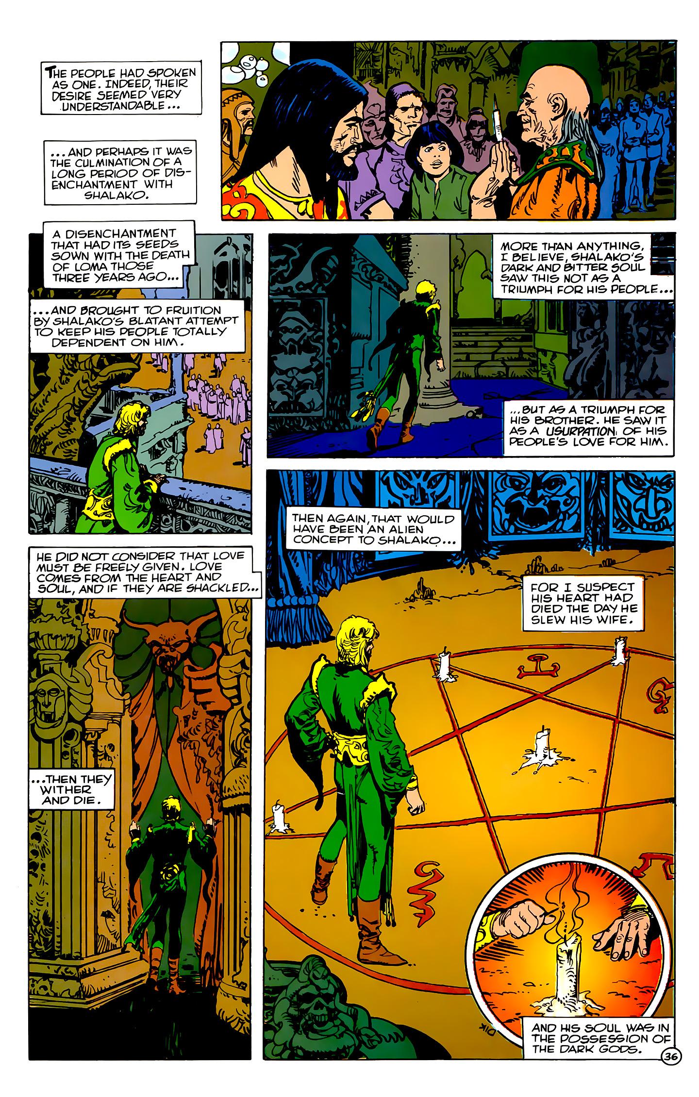 Read online Atlantis Chronicles comic -  Issue #2 - 36