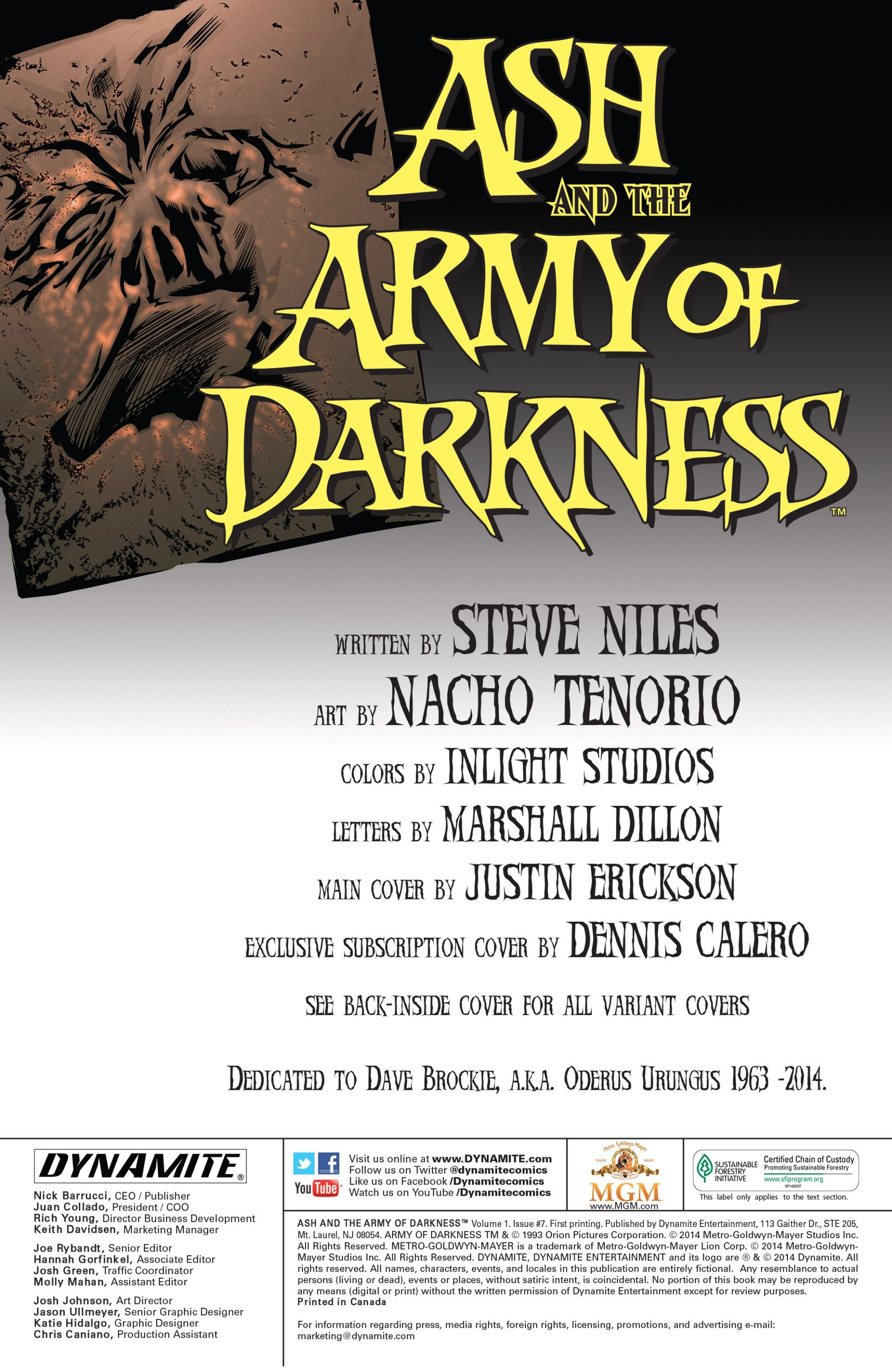 Read online Ash and the Army of Darkness comic -  Issue #7 - 2