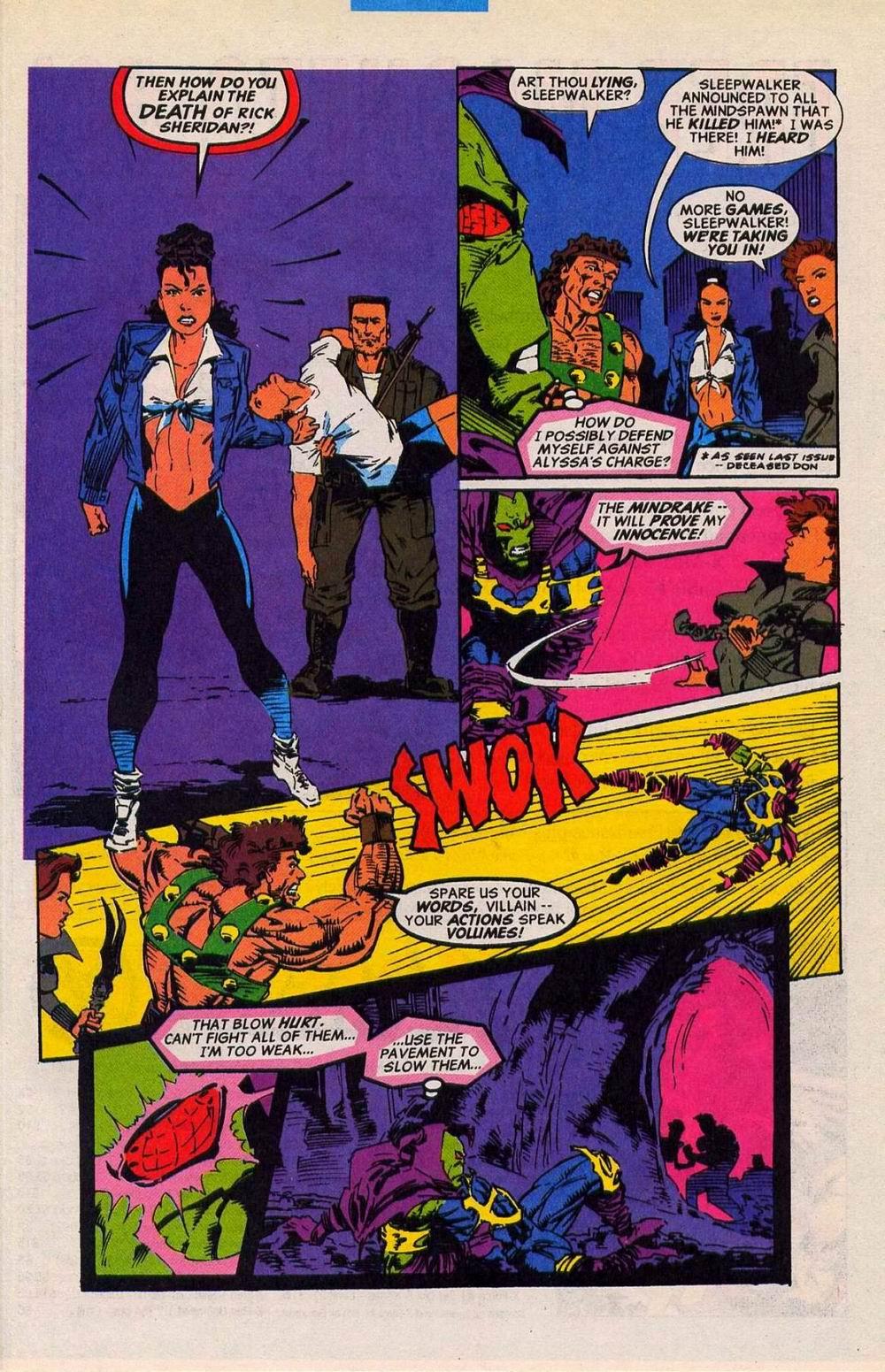 Read online Sleepwalker comic -  Issue #27 - 20