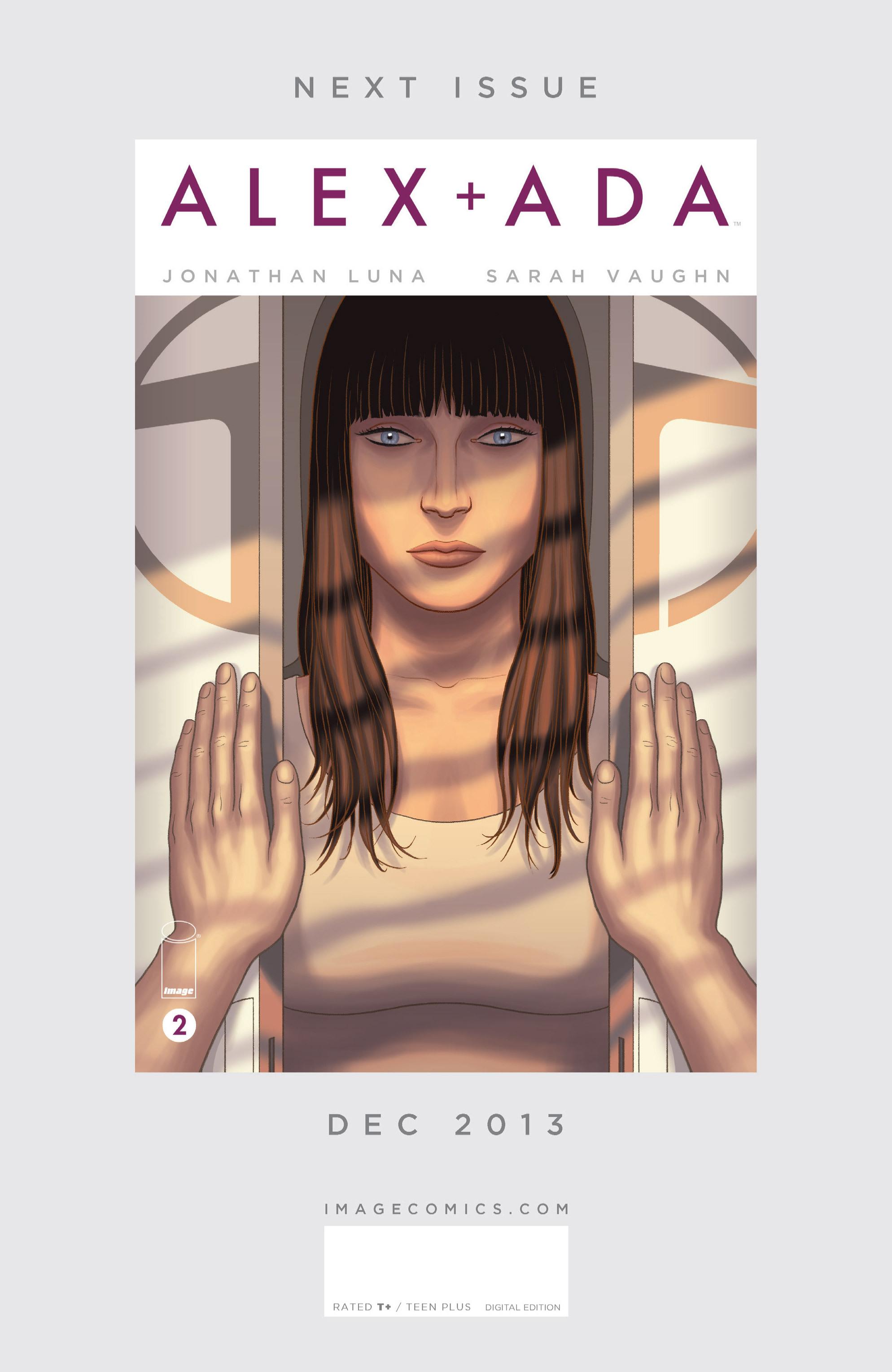 Read online Alex   Ada comic -  Issue #1 - 32