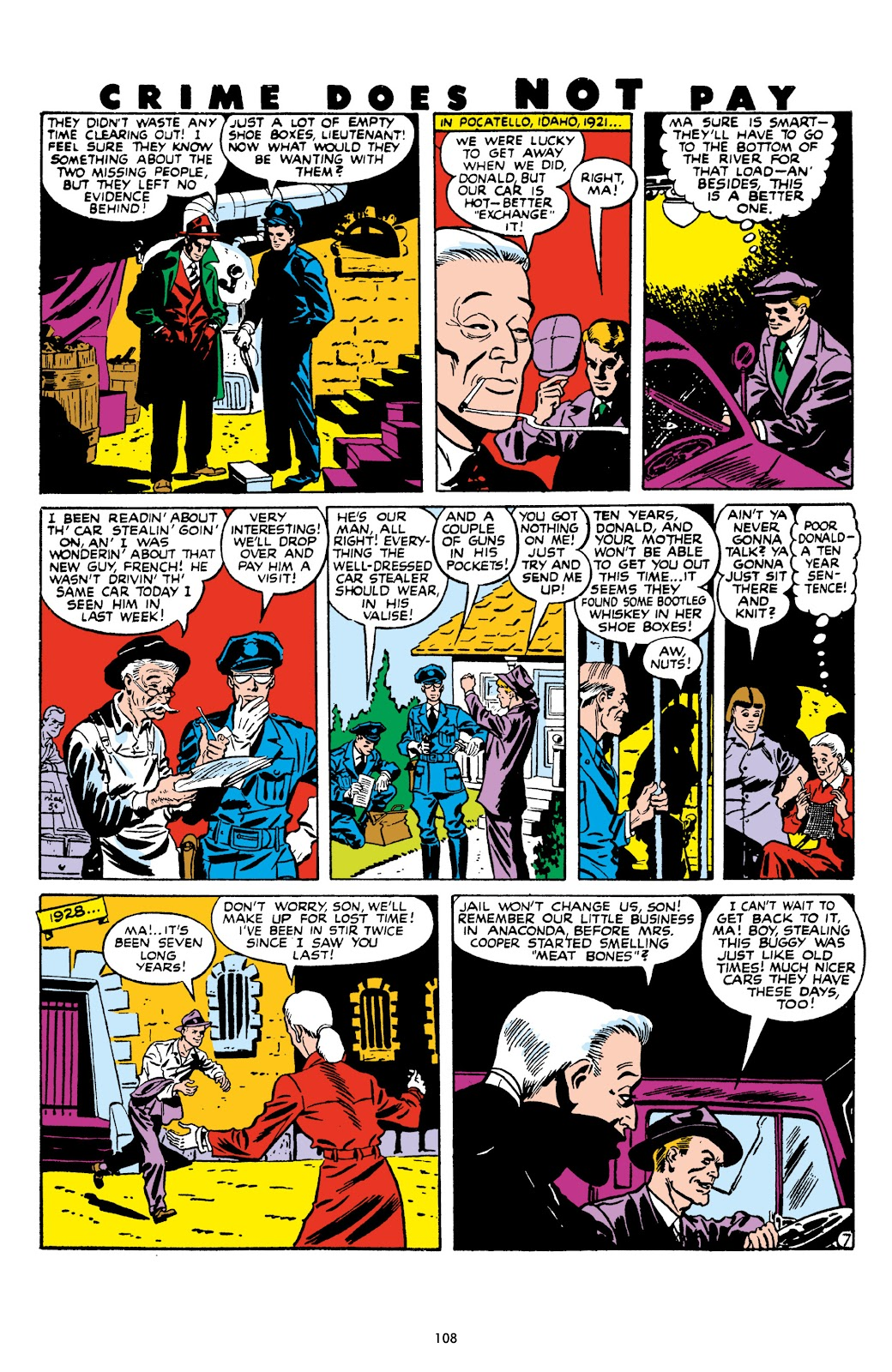 Read online Crime Does Not Pay Archives comic -  Issue # TPB 9 (Part 2) - 10