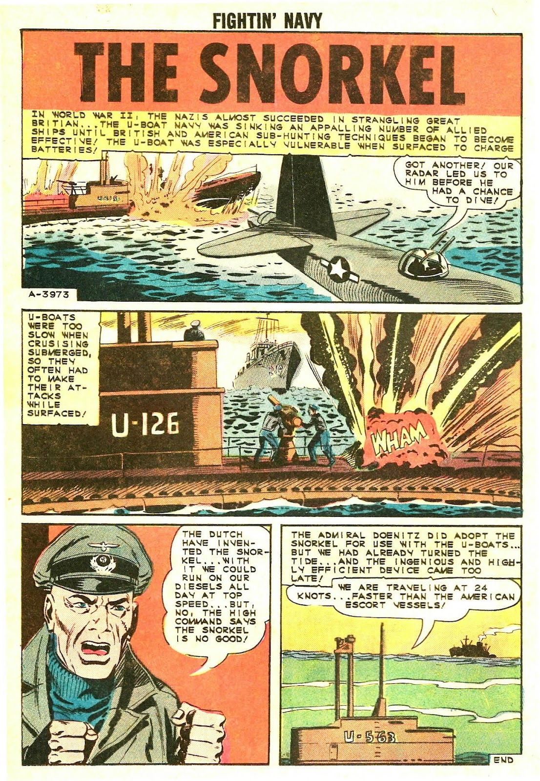 Read online Fightin' Navy comic -  Issue #118 - 12