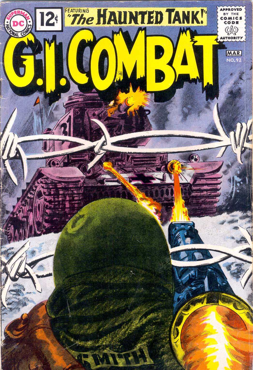 G.I. Combat (1952) 92 Page 1