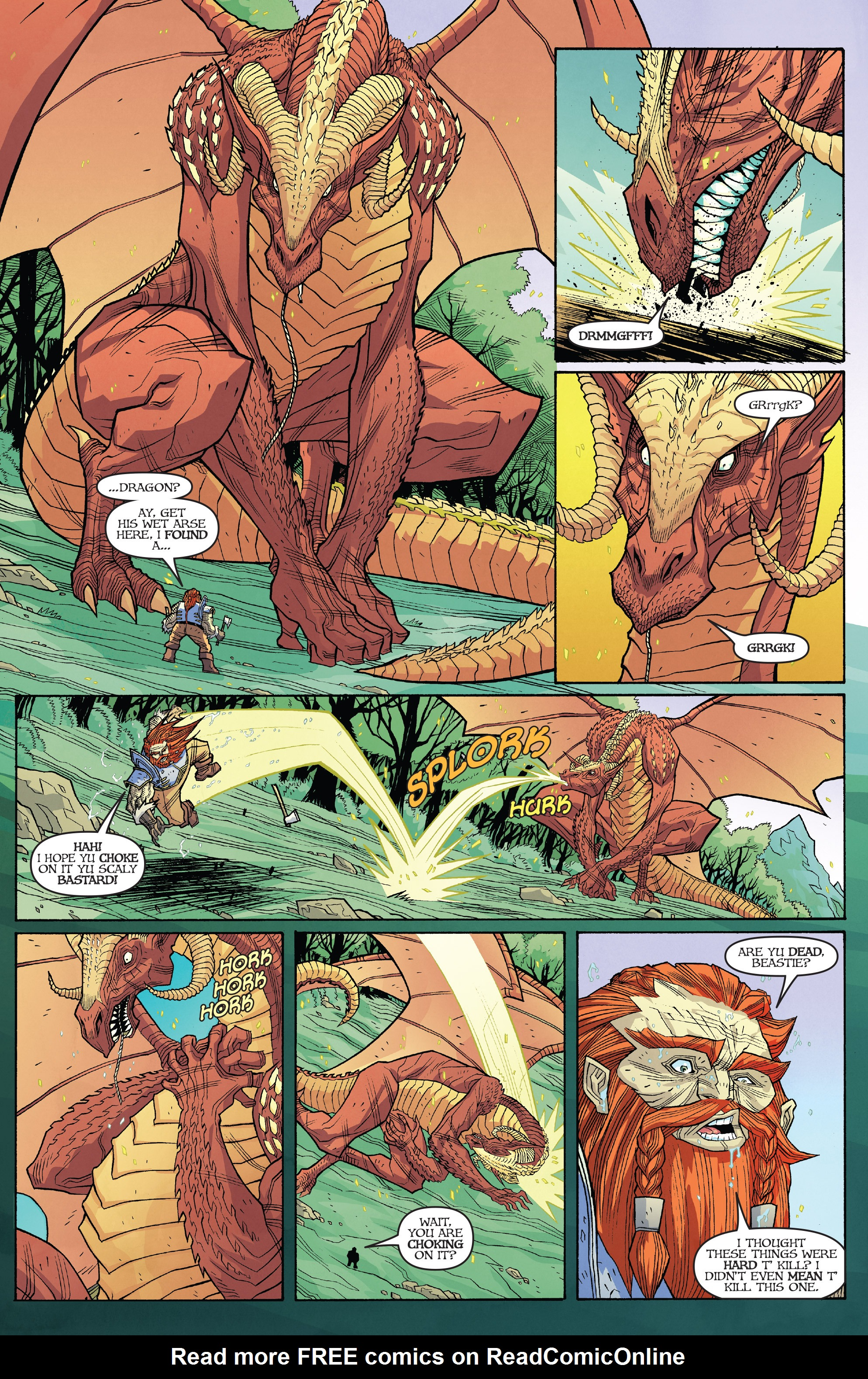 Read online Skullkickers comic -  Issue #18 - 5