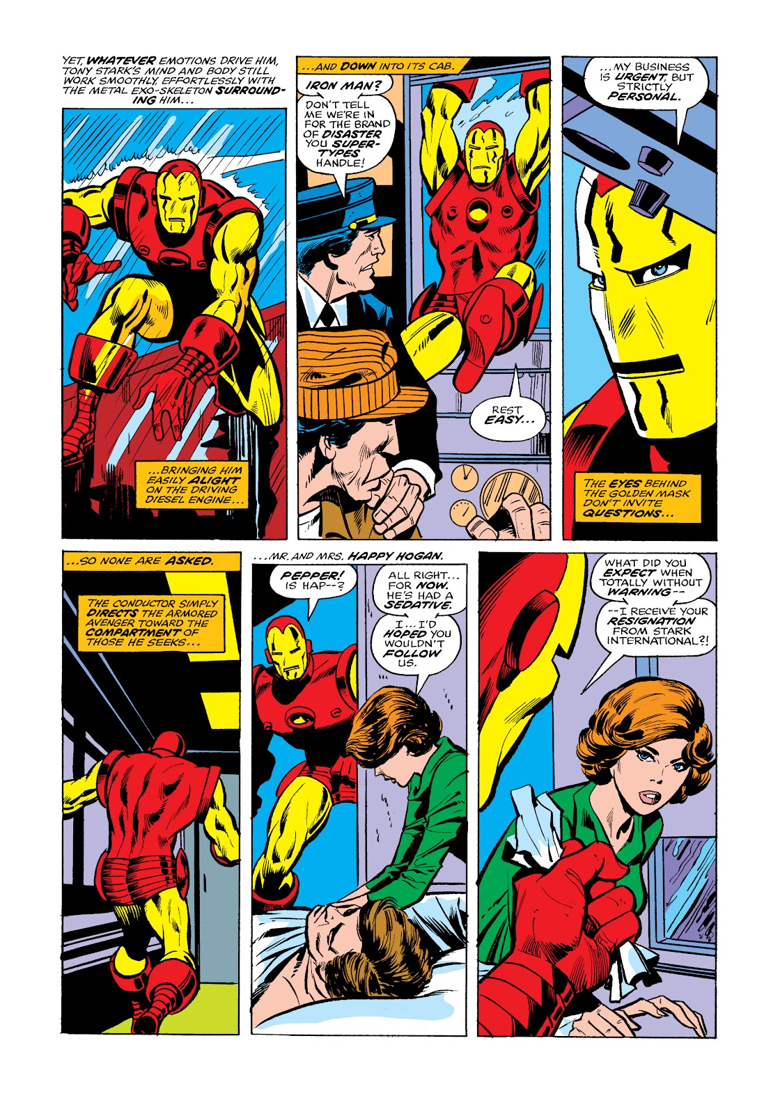 Read online Marvel Masterworks: The Invincible Iron Man comic -  Issue # TPB 11 (Part 2) - 59