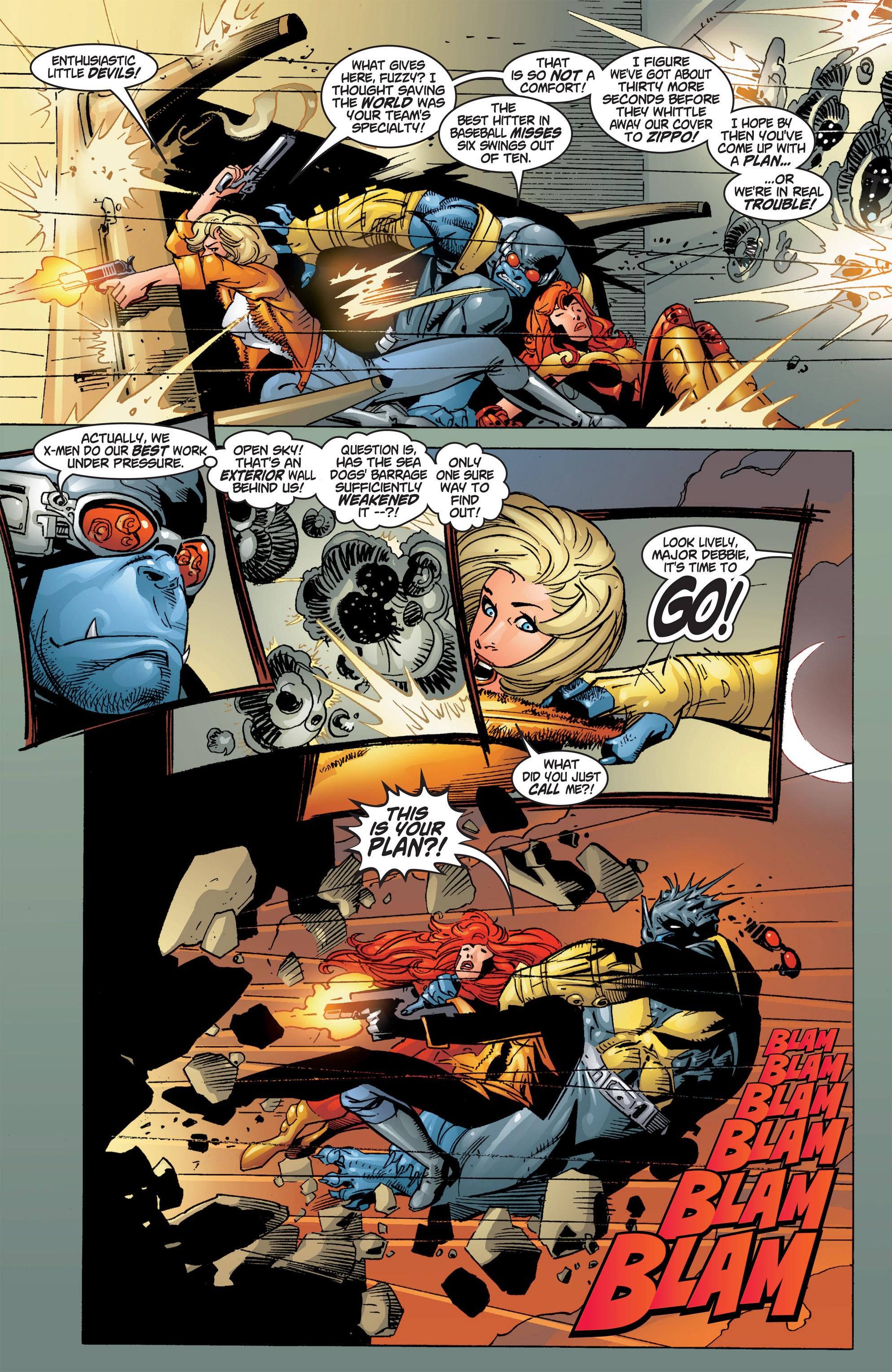 Read online Uncanny X-Men (1963) comic -  Issue #384 - 19