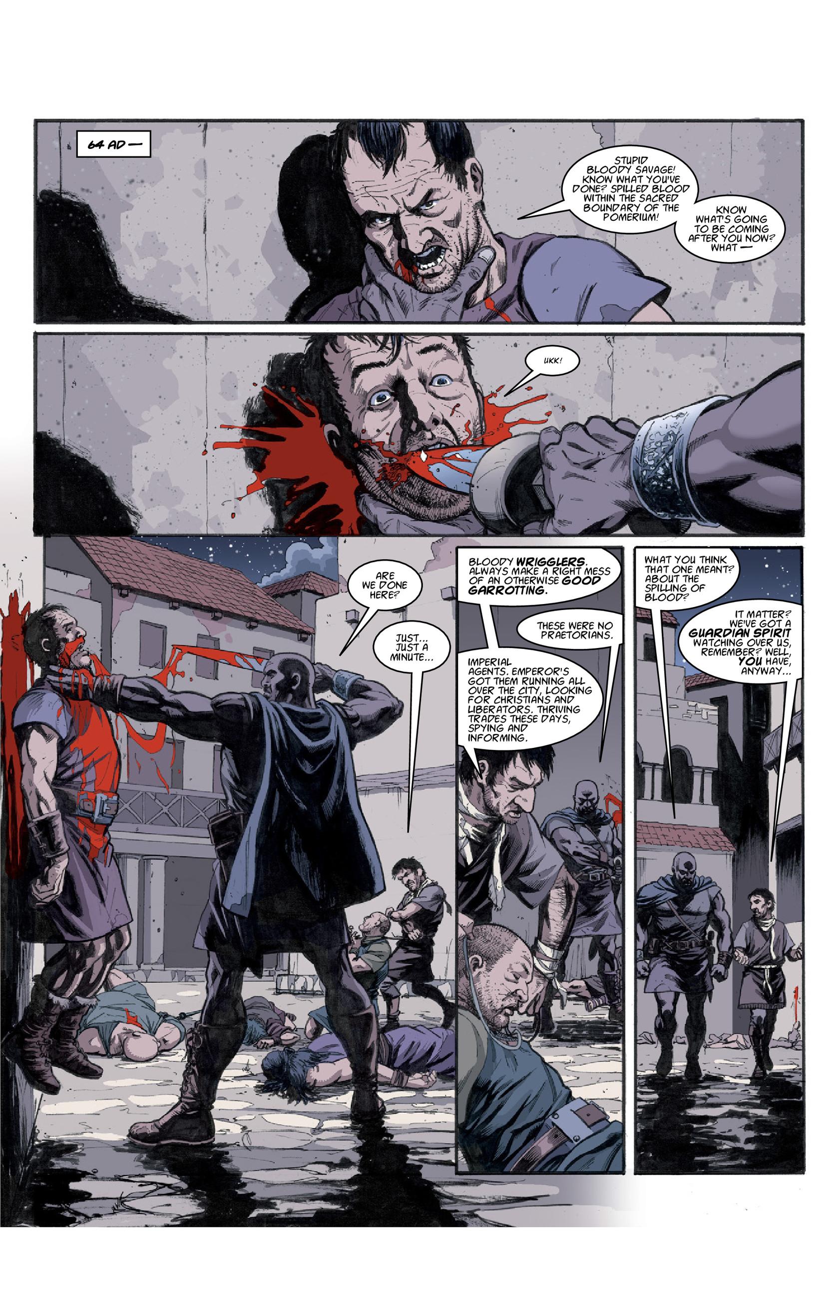 Read online Aquila comic -  Issue #3 - 19