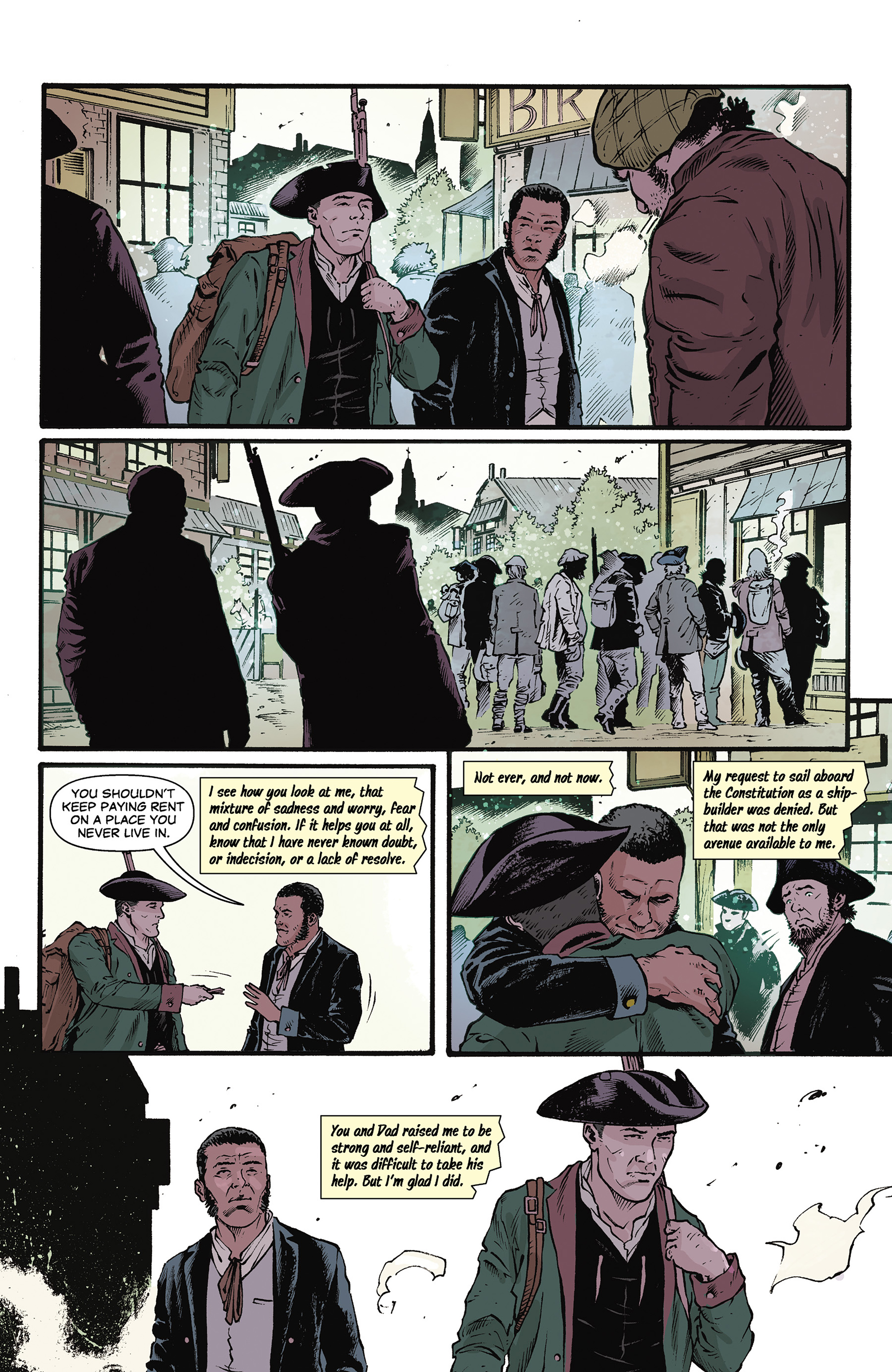 Read online Rebels: These Free and Independent States comic -  Issue #3 - 24