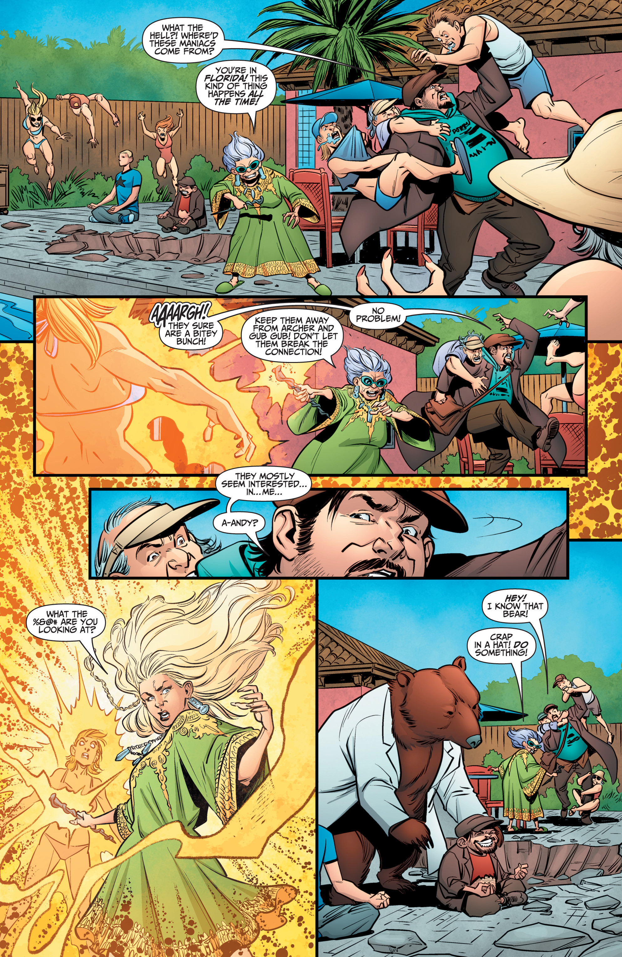 Read online A&A: The Adventures of Archer & Armstrong comic -  Issue #10 - 22