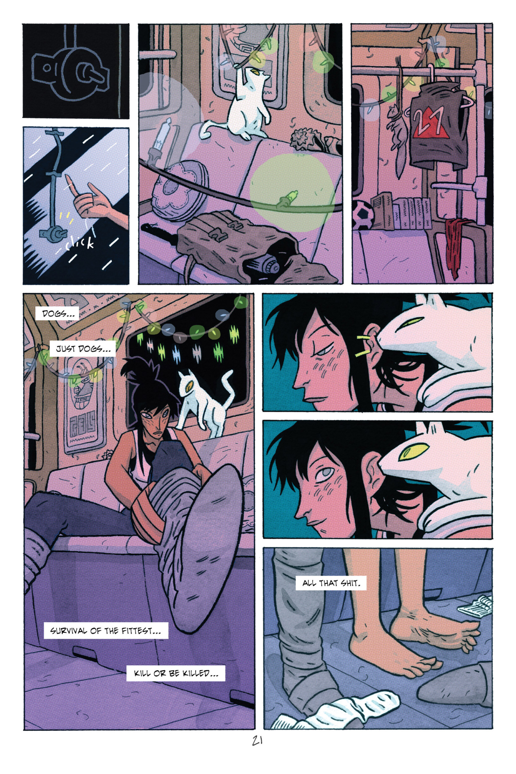 Read online ApocalyptiGirl: An Aria for the End Times comic -  Issue #ApocalyptiGirl: An Aria for the End Times Full - 29
