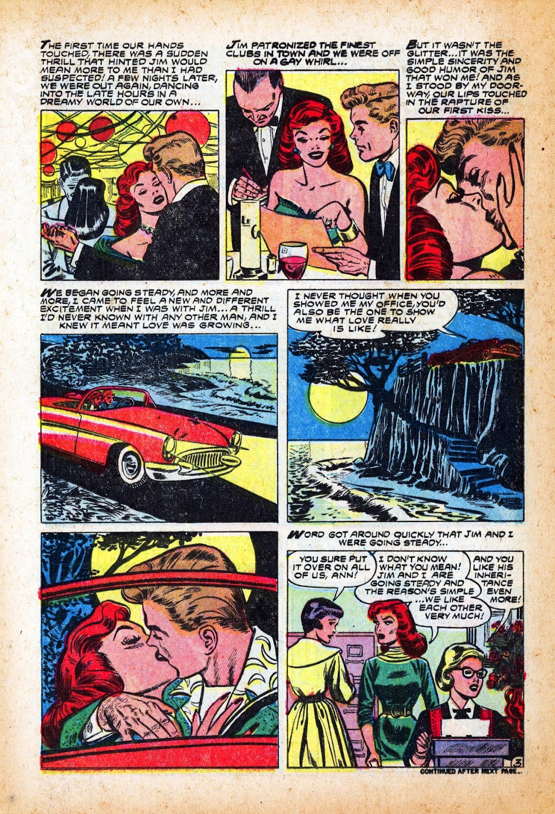Love Romances (1949) issue 47 - Page 12