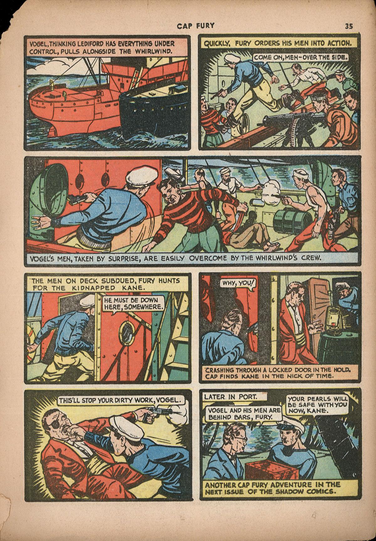 Read online Shadow Comics comic -  Issue #2 - 38