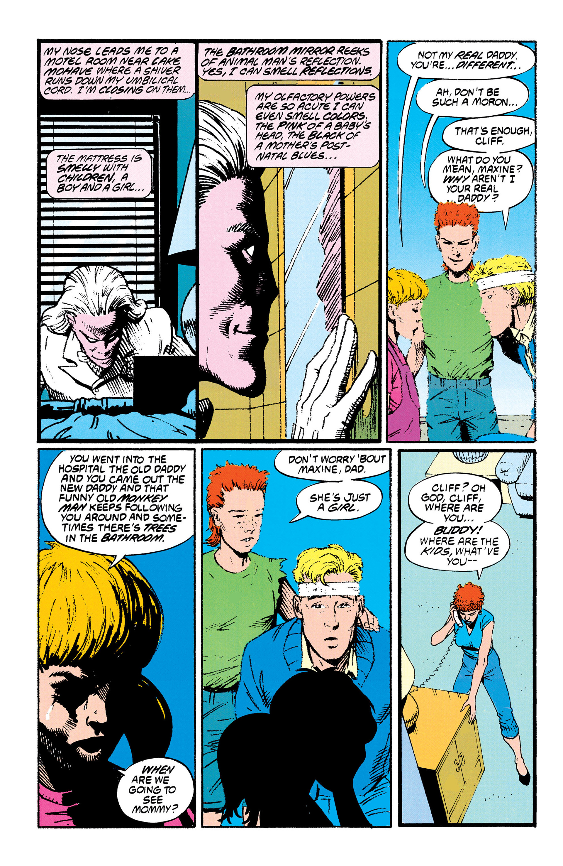 Read online Animal Man (1988) comic -  Issue #29 - 10