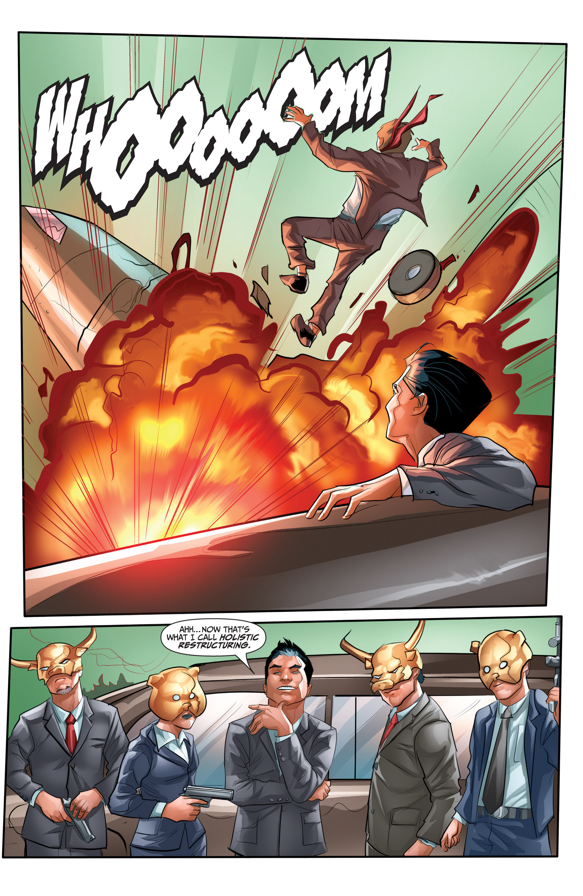 Read online Archer and Armstrong comic -  Issue #Archer and Armstrong _TPB 7 - 71