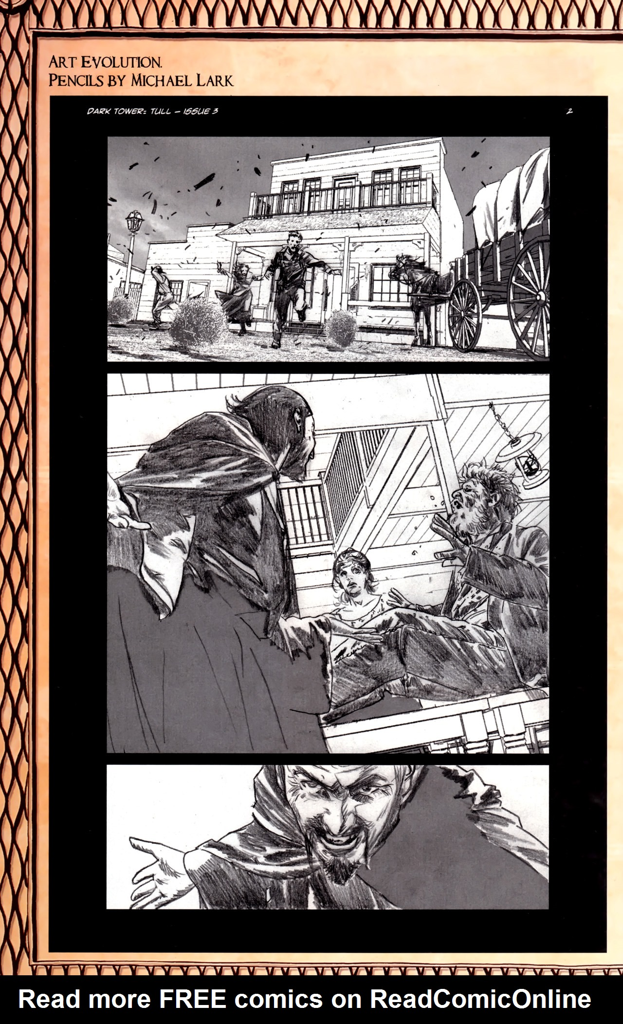 Read online Dark Tower: The Gunslinger - The Battle of Tull comic -  Issue #3 - 27