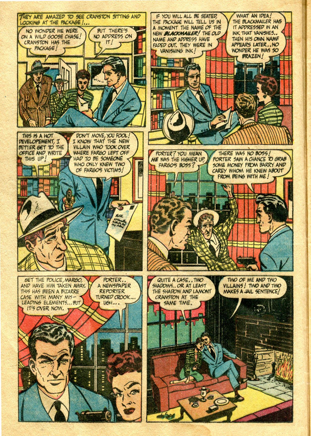 Read online Shadow Comics comic -  Issue #99 - 18