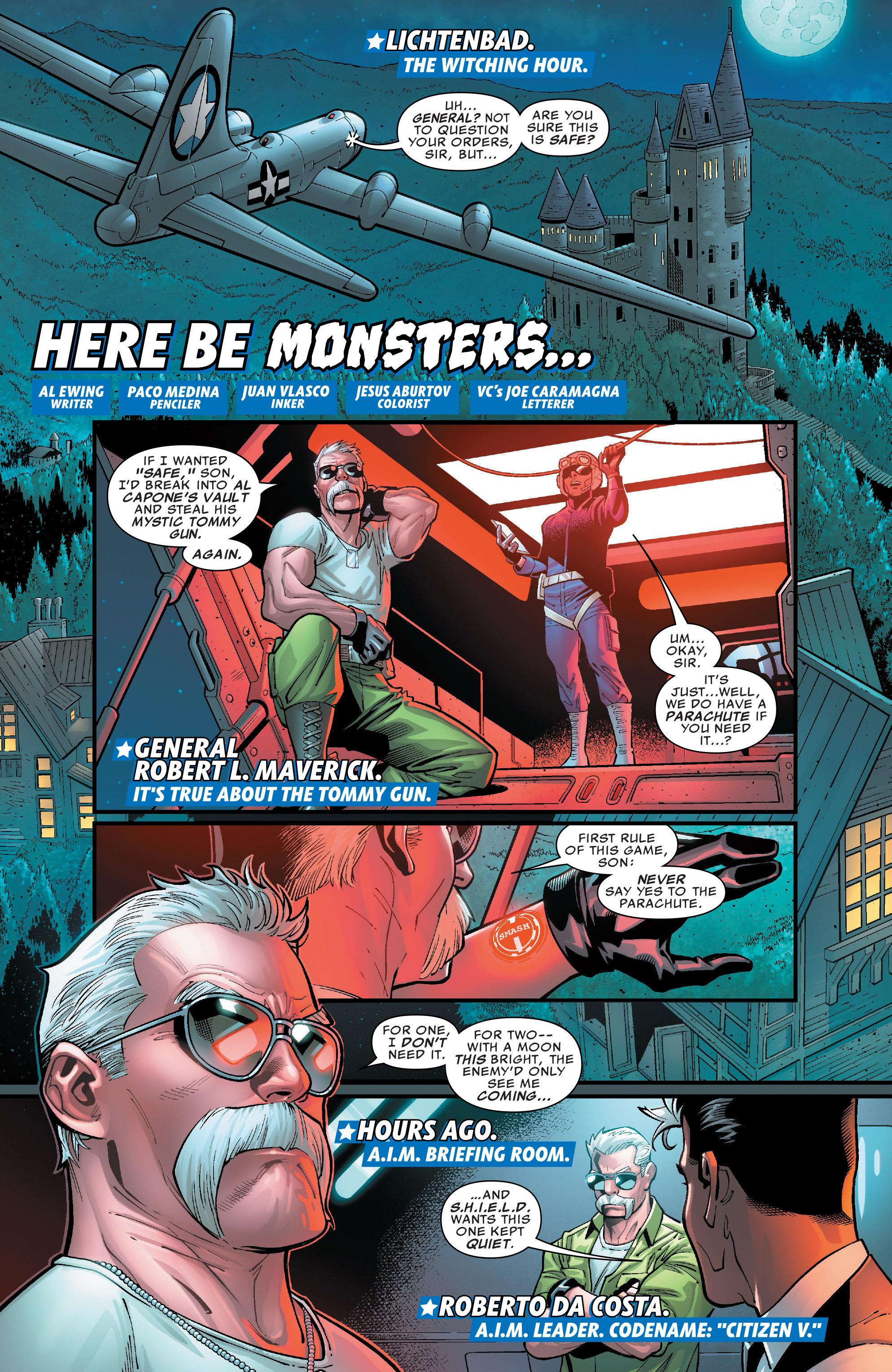 Read online U.S.Avengers comic -  Issue #4 - 4