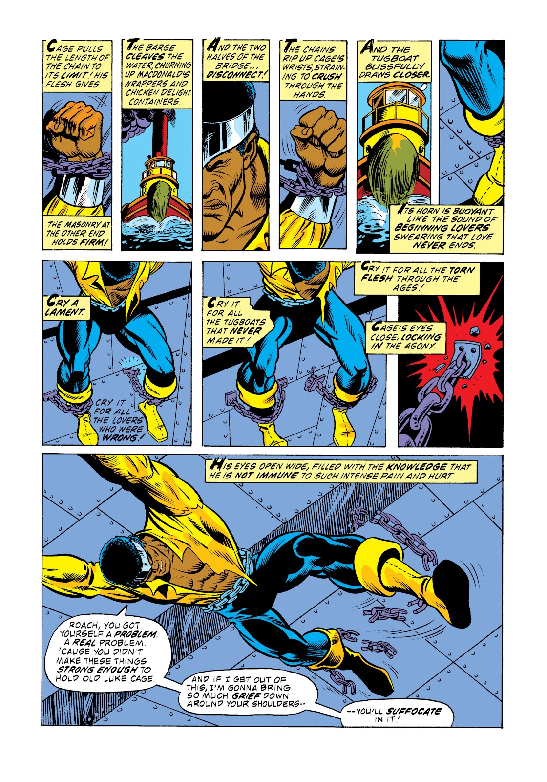 Read online Marvel Masterworks: Luke Cage, Power Man comic -  Issue # TPB 2 (Part 3) - 61