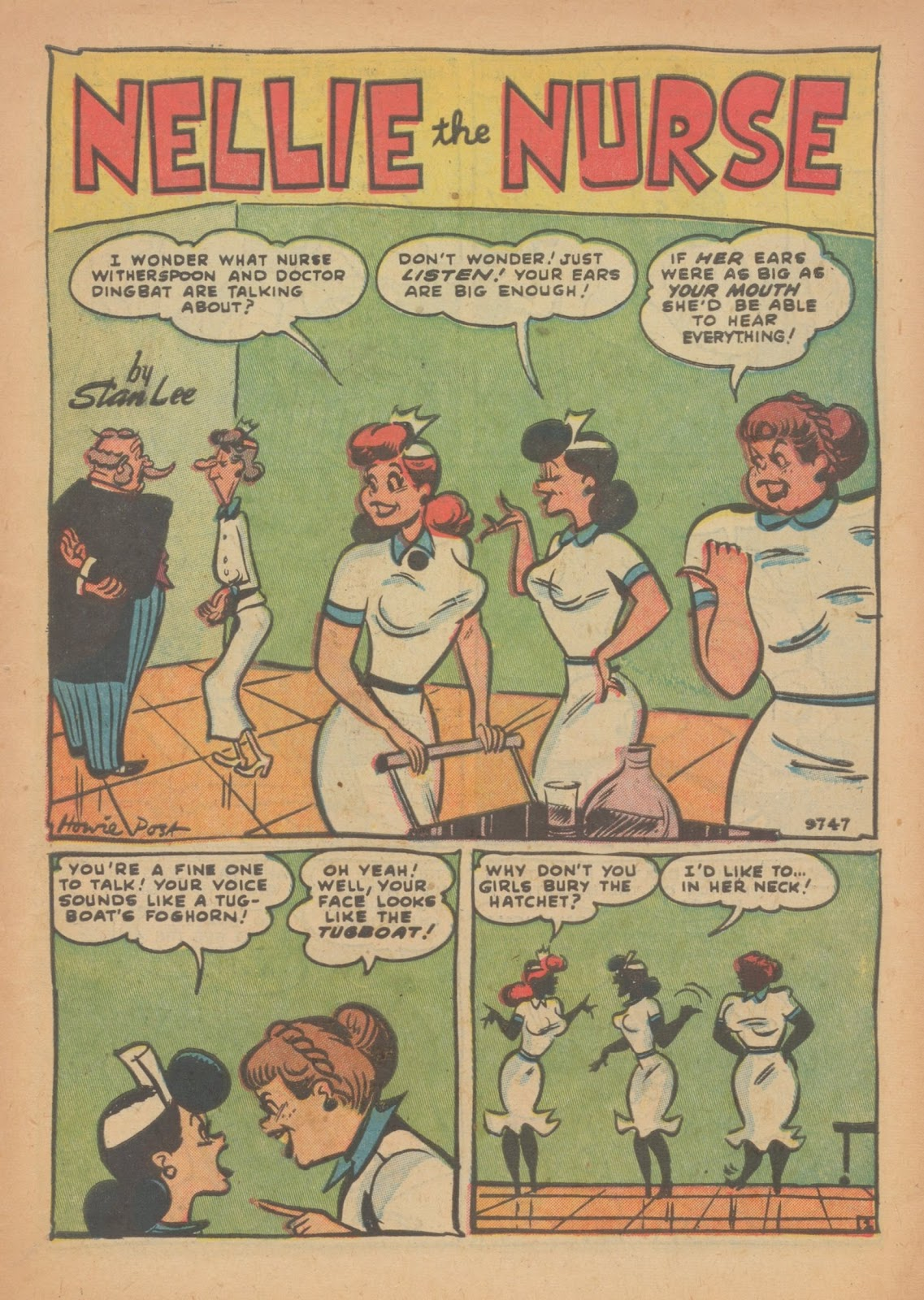 Read online Nellie The Nurse (1945) comic -  Issue #33 - 3