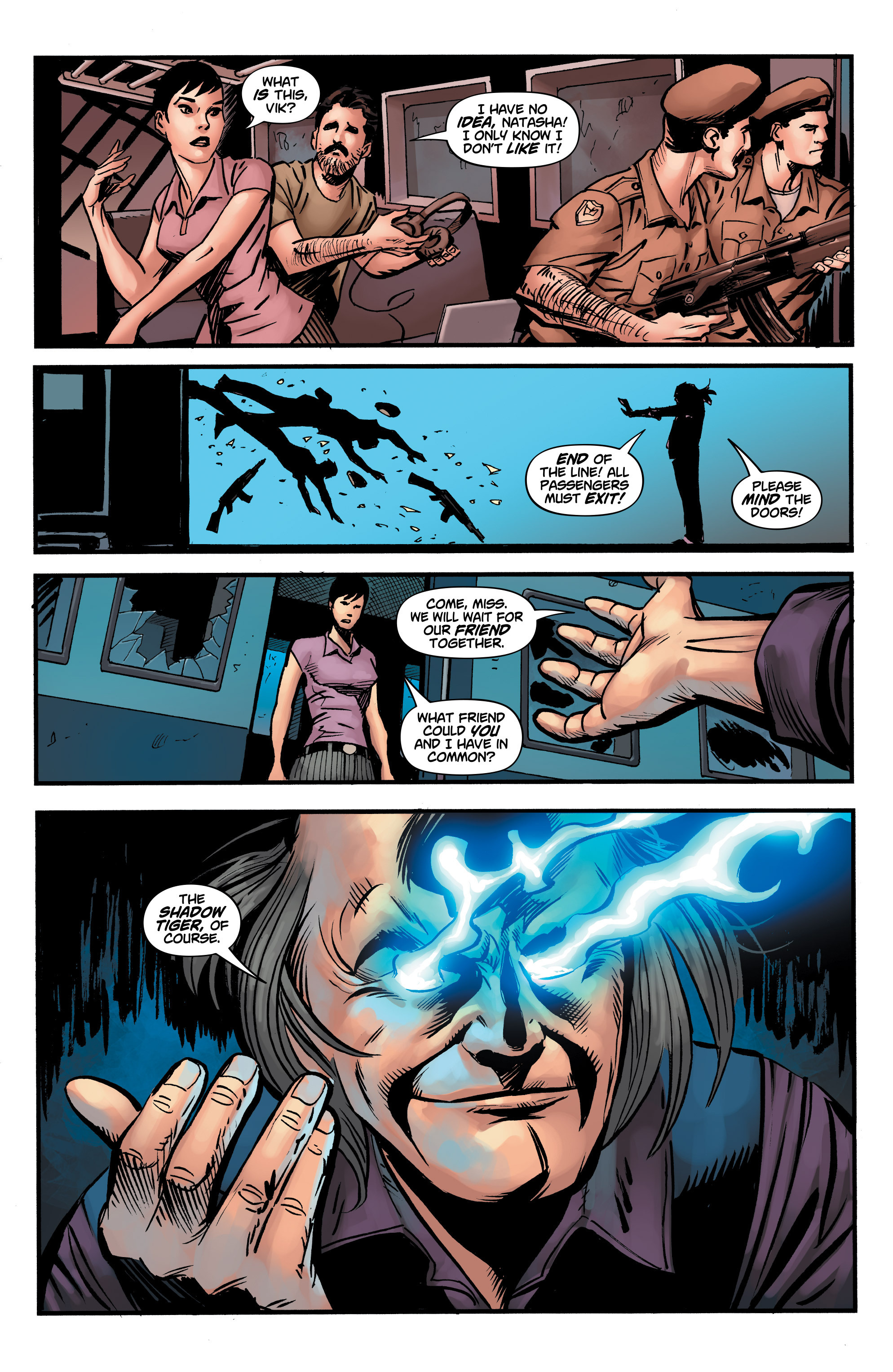 Read online Shadow Tiger comic -  Issue #3 - 15