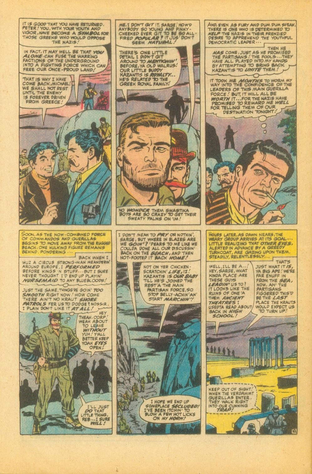 Read online Sgt. Fury comic -  Issue #99 - 16