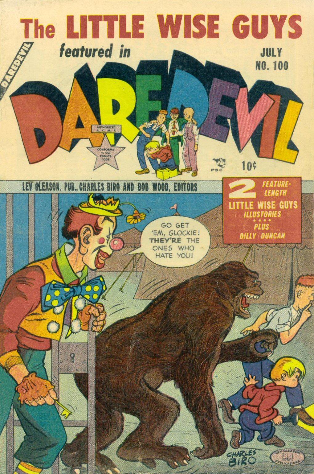 Daredevil (1941) 100 Page 1