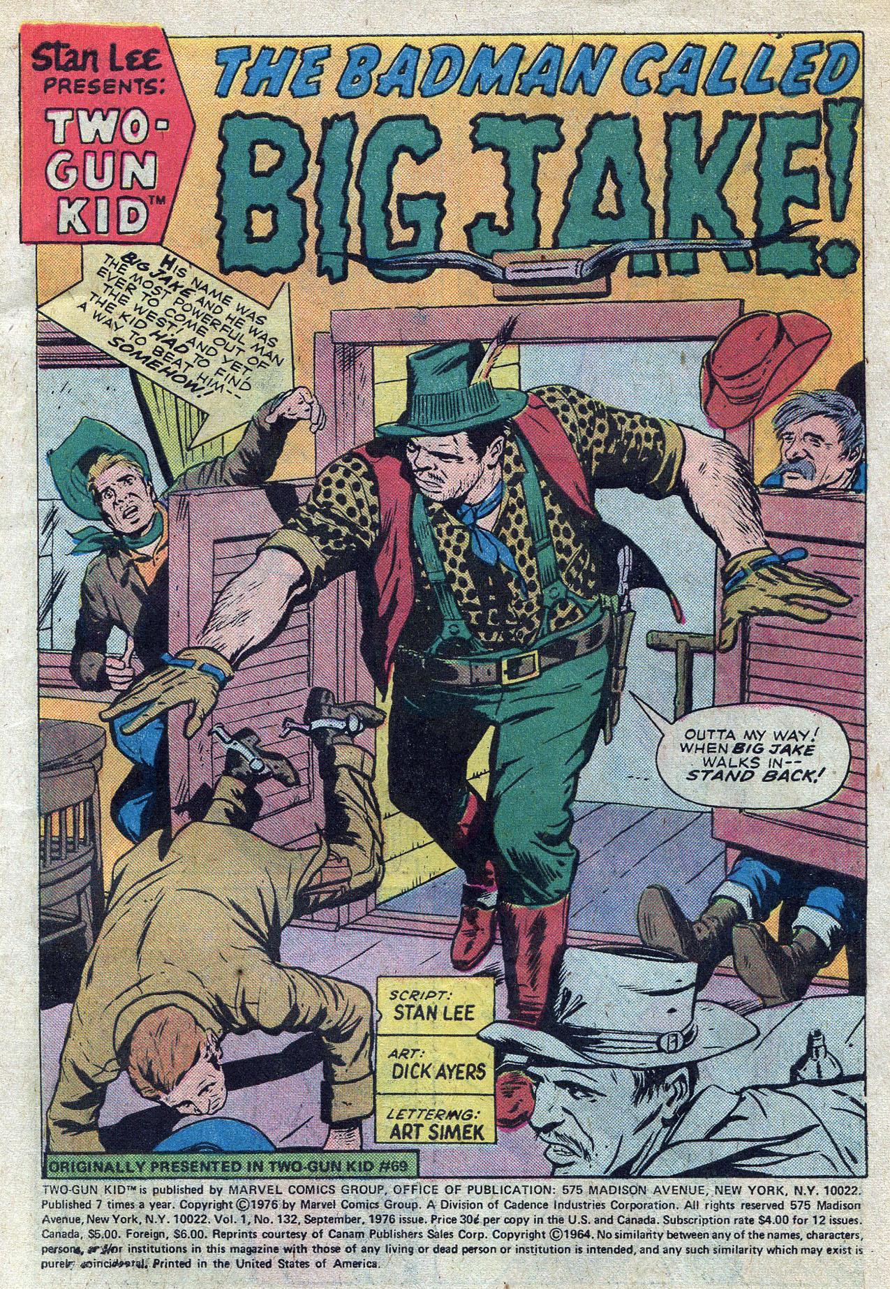 Read online Two-Gun Kid comic -  Issue #132 - 3