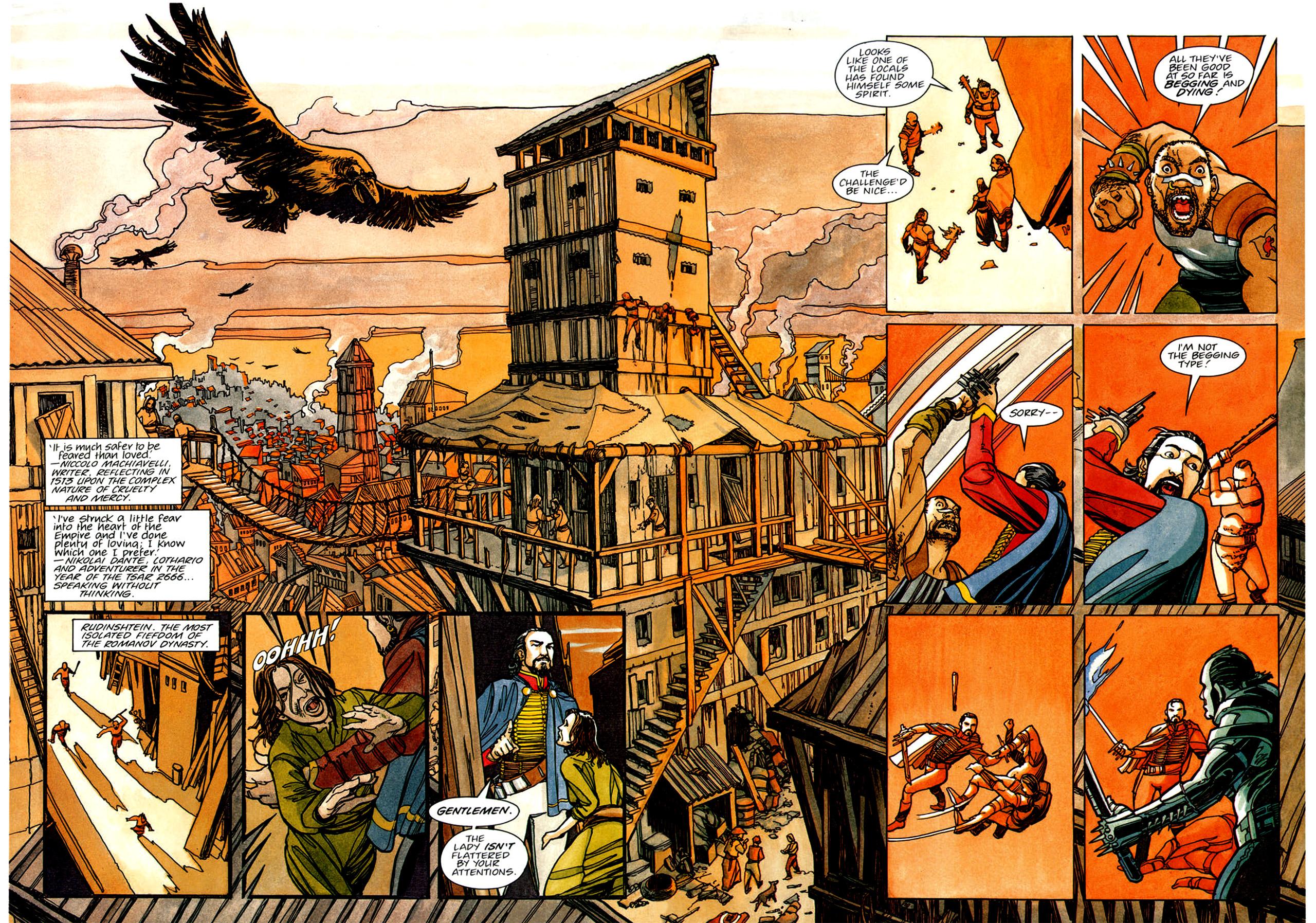 Read online Nikolai Dante comic -  Issue # TPB 1 - 65