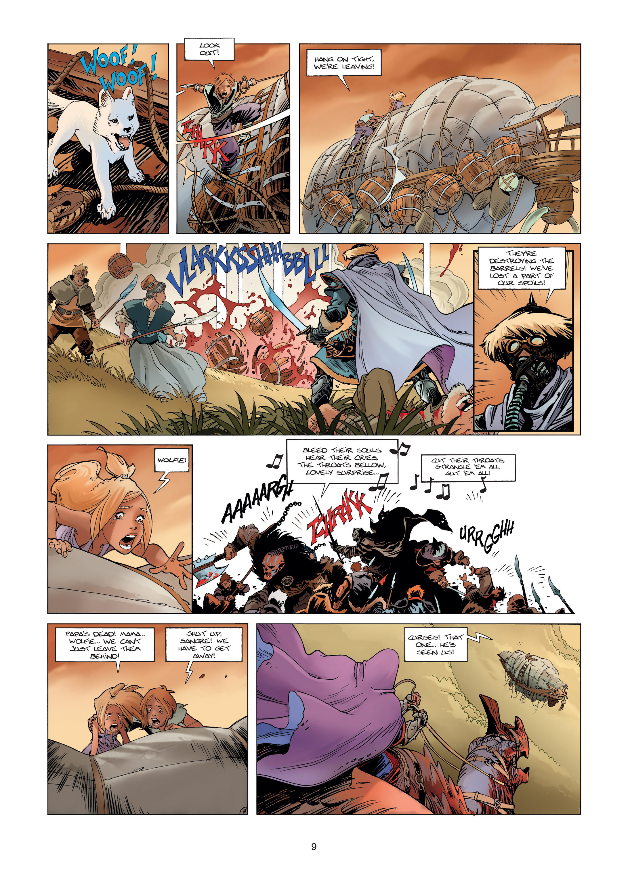 Read online Sangre Vol. 1: Sangre the Survivor comic -  Issue # Full - 9