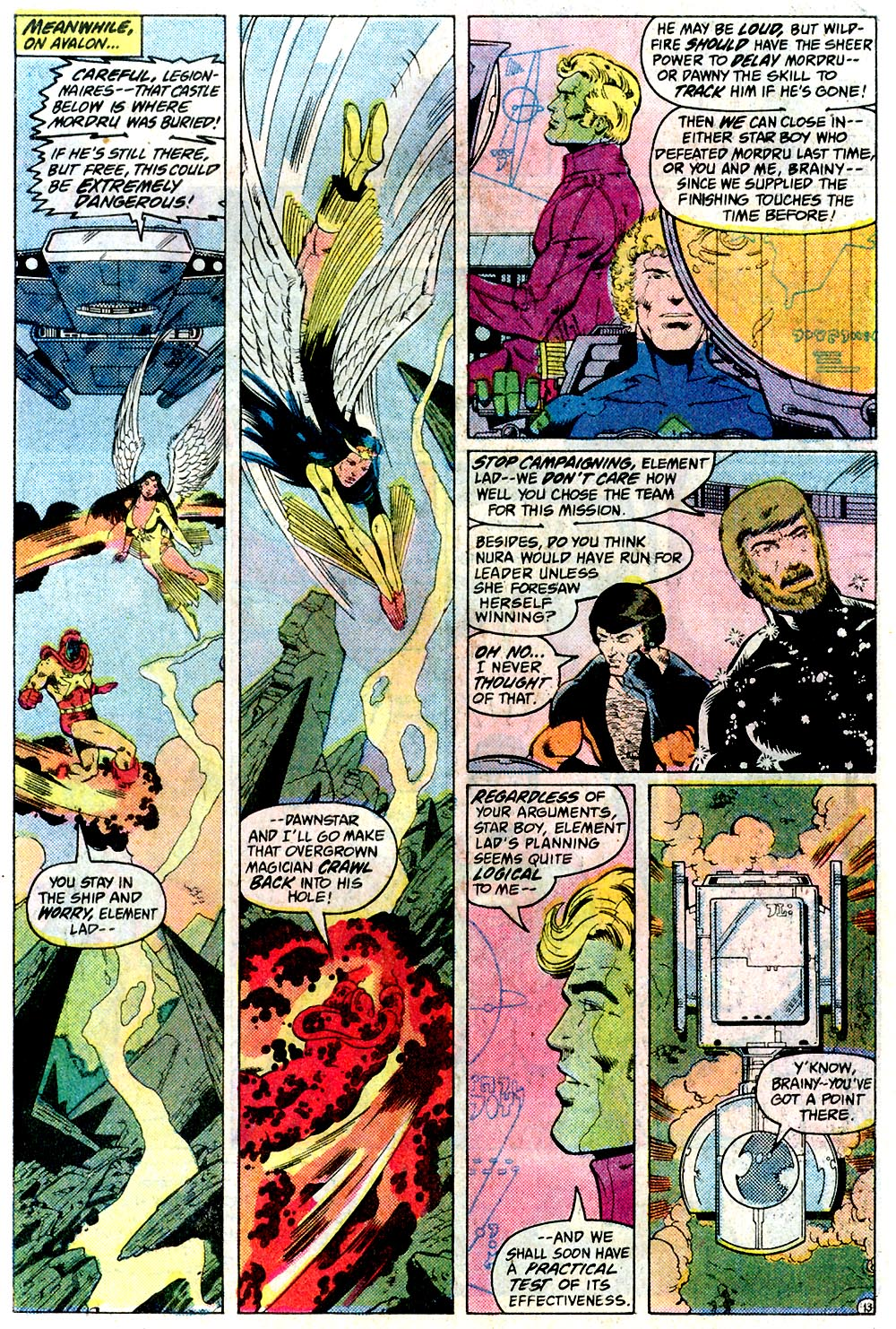Legion of Super-Heroes (1980) 291 Page 13