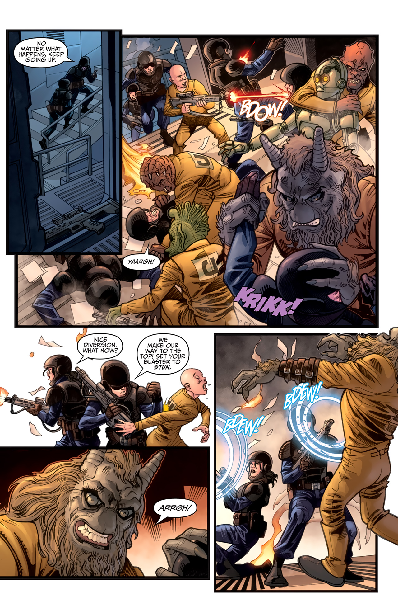 Read online Star Wars: Agent Of The Empire - Hard Targets comic -  Issue #3 - 19