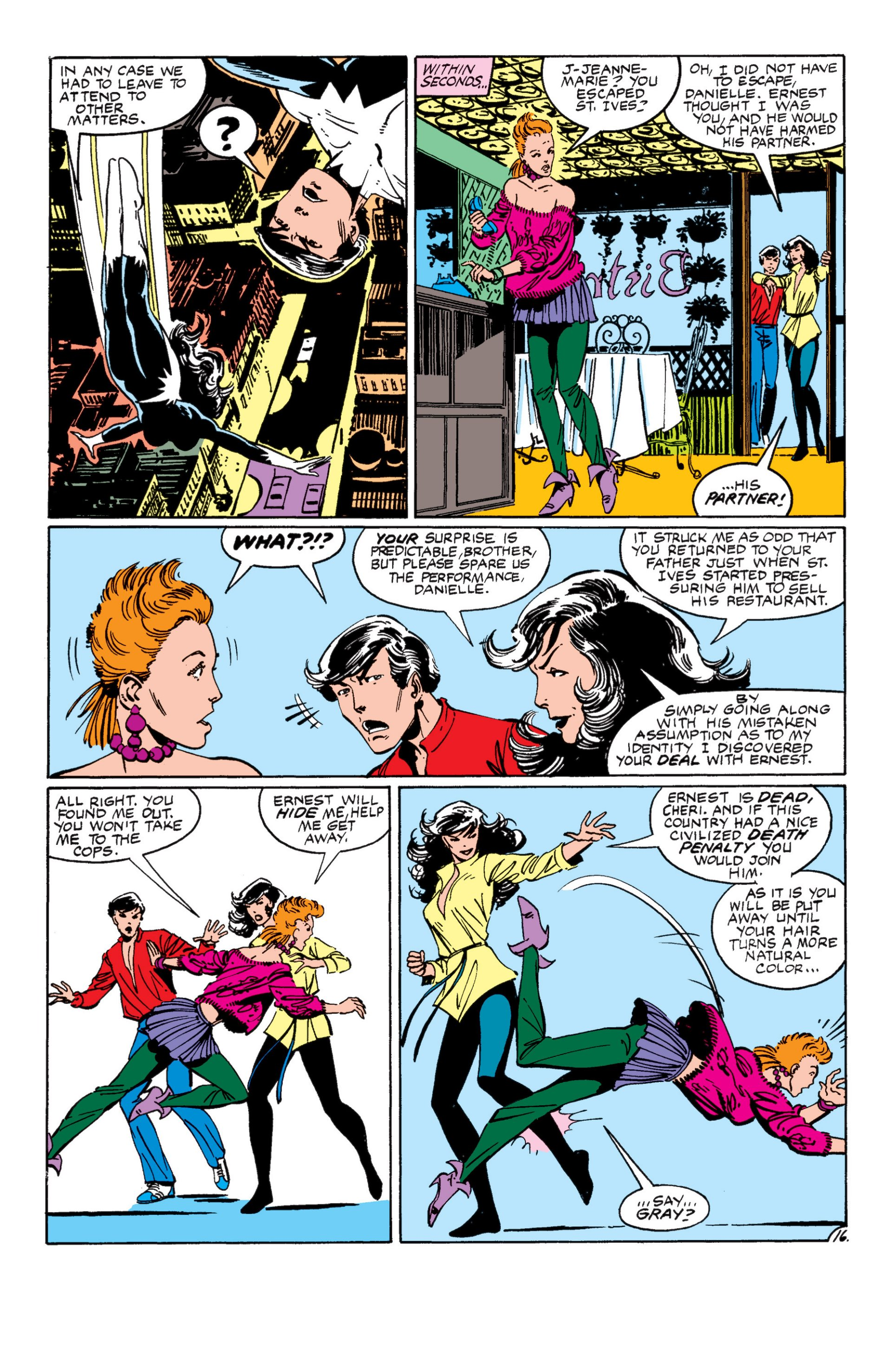 Read online Alpha Flight (1983) comic -  Issue #8 - 17
