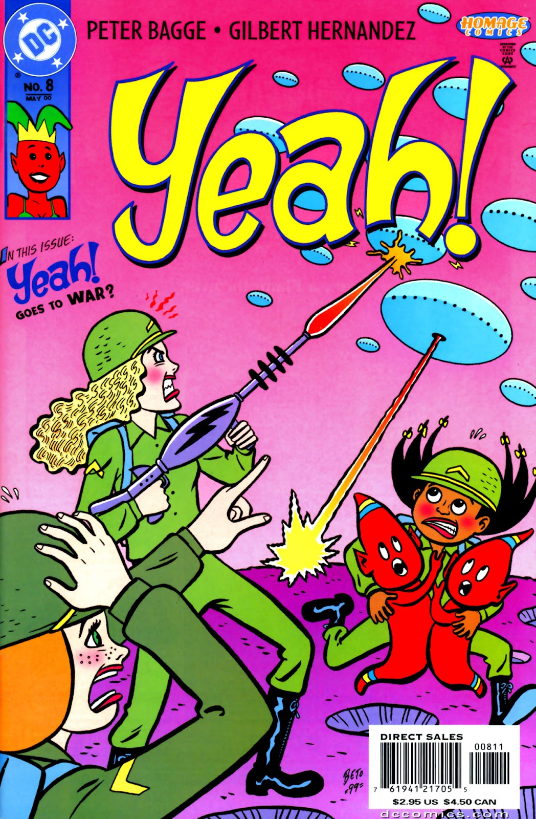 Read online Yeah! comic -  Issue #8 - 1