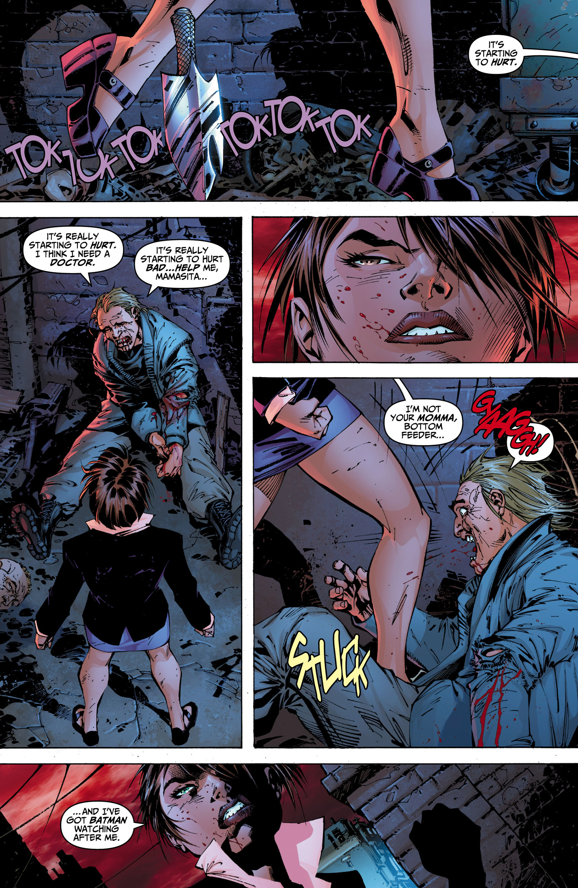 Read online All Star Batman & Robin, The Boy Wonder comic -  Issue #5 - 15