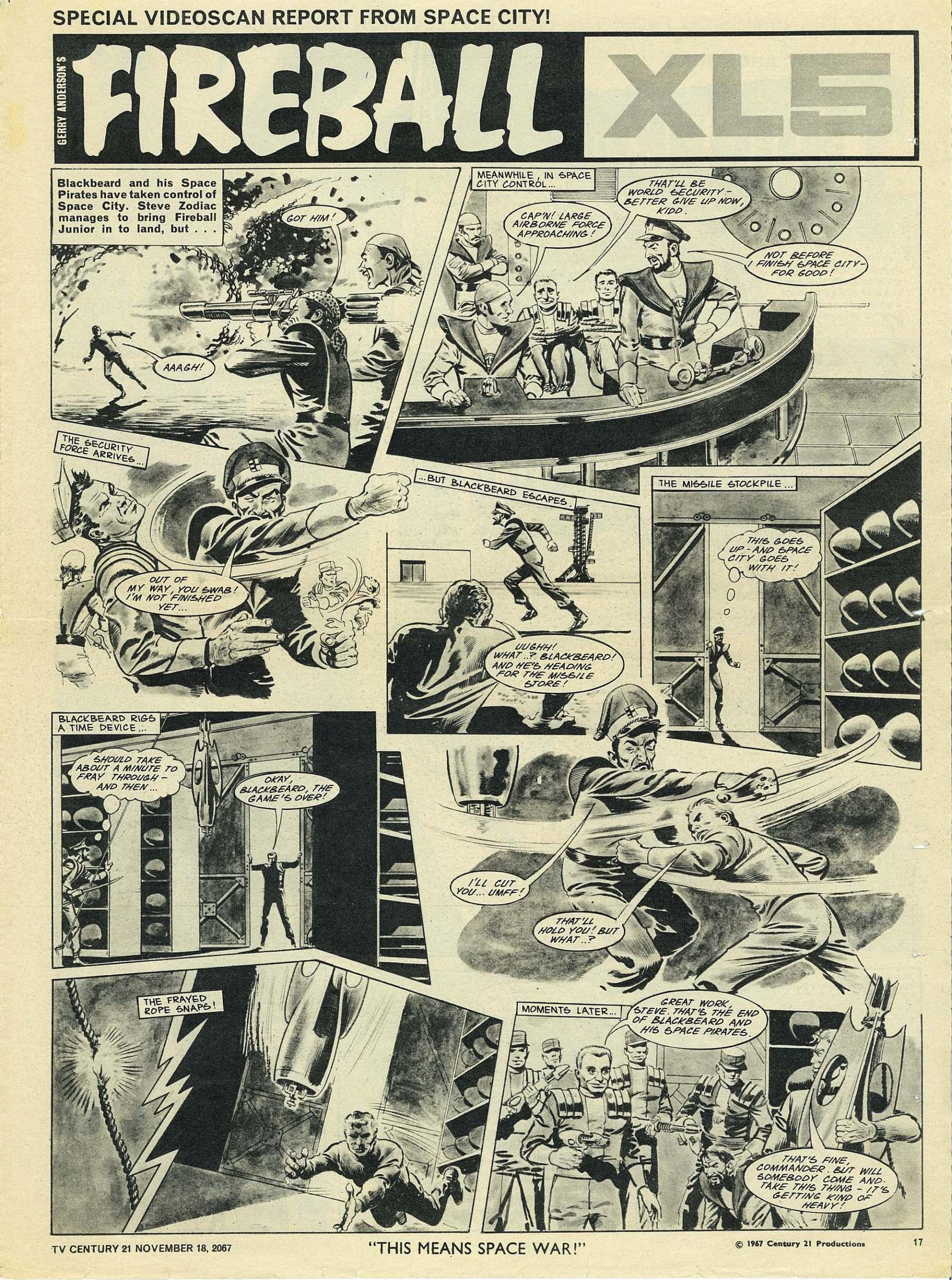 Read online TV Century 21 (TV 21) comic -  Issue #148 - 16