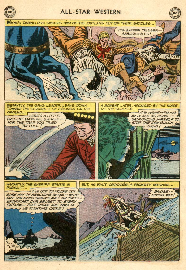 Read online All-Star Western (1951) comic -  Issue #97 - 5